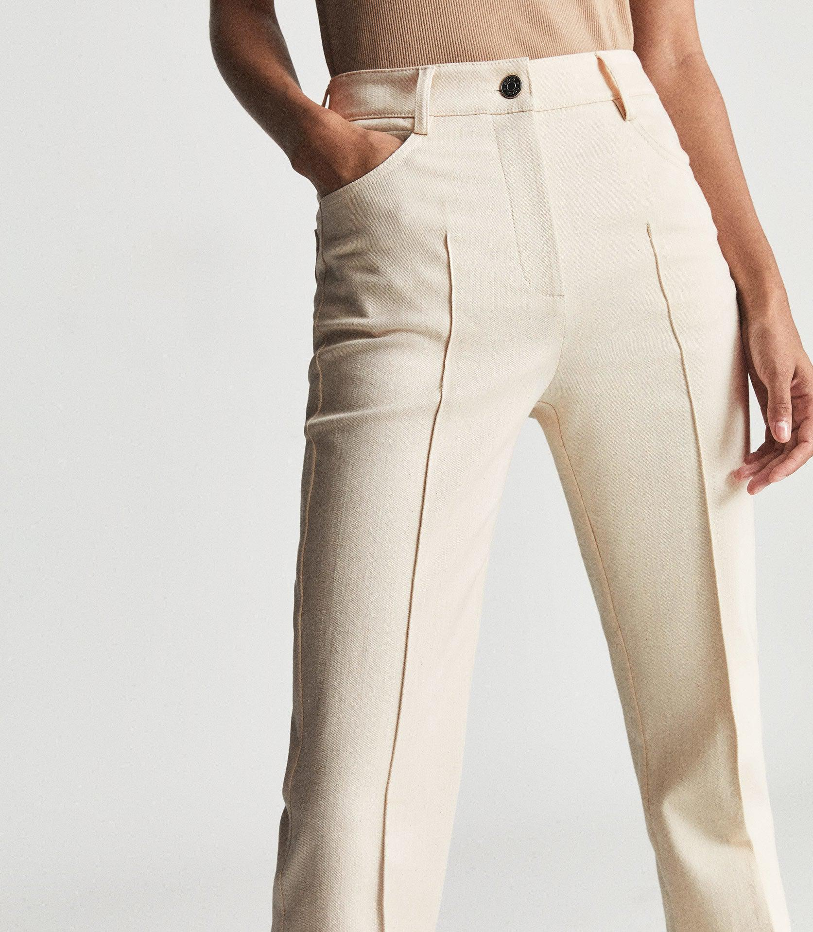 FLORENCE - HIGH RISE FLARED TROUSERS 2