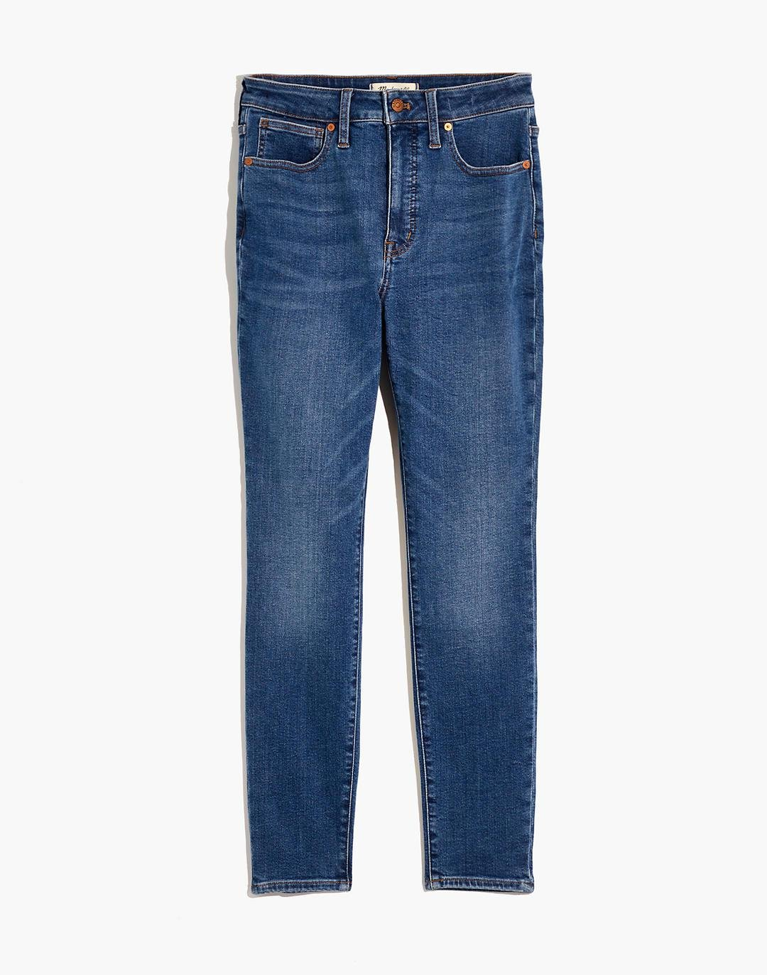 Petite Curvy High-Rise Skinny Jeans in Wendover Wash: TENCEL™ Denim Edition 4