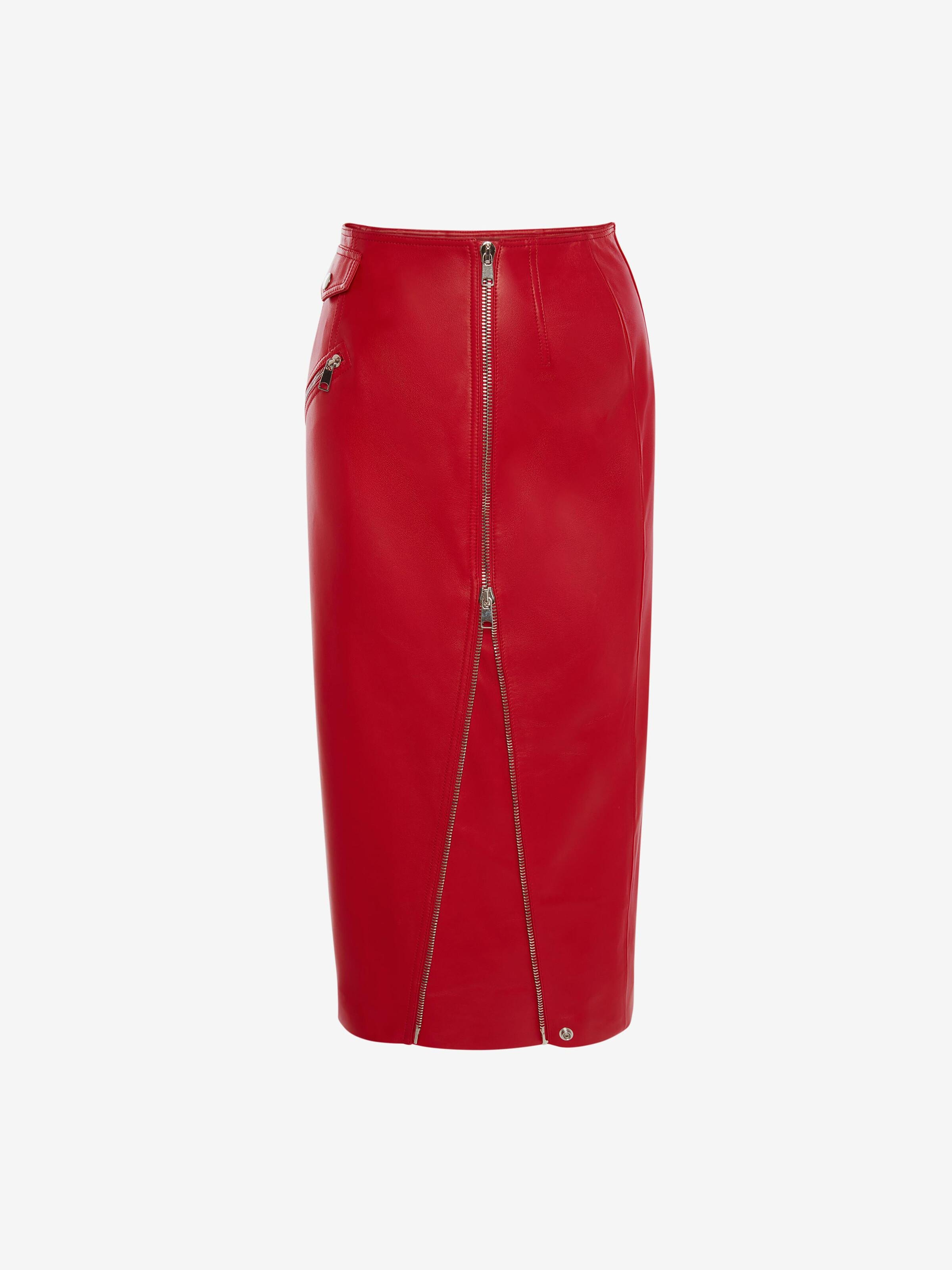 Leather Pencil Skirt 3