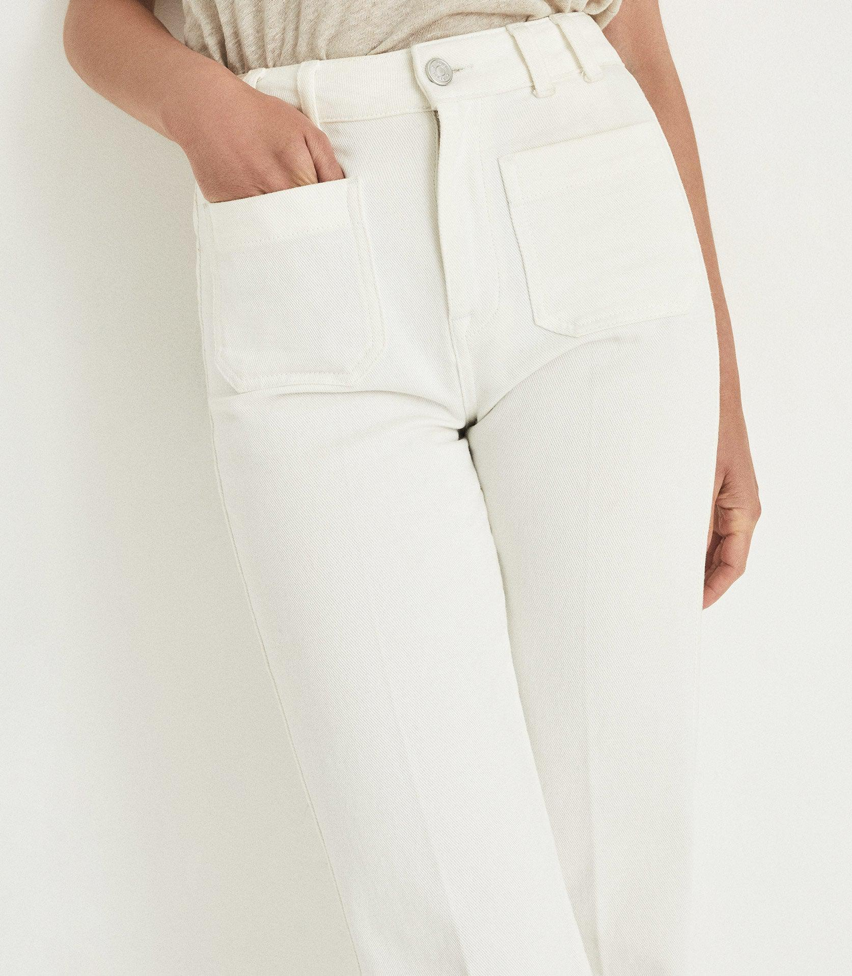 ISA - HIGH RISE FLARED JEANS 3