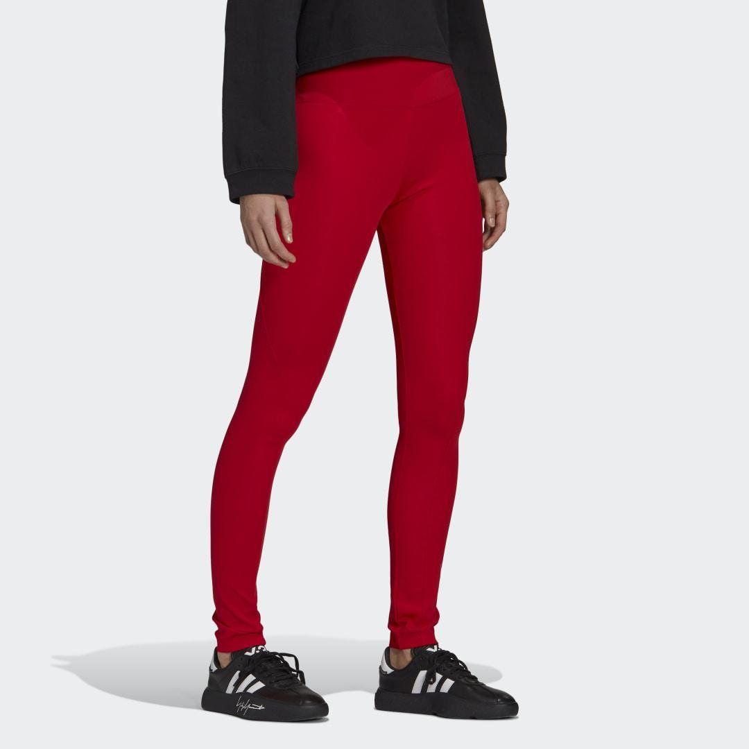 Y-3 Classic Tights Red 2