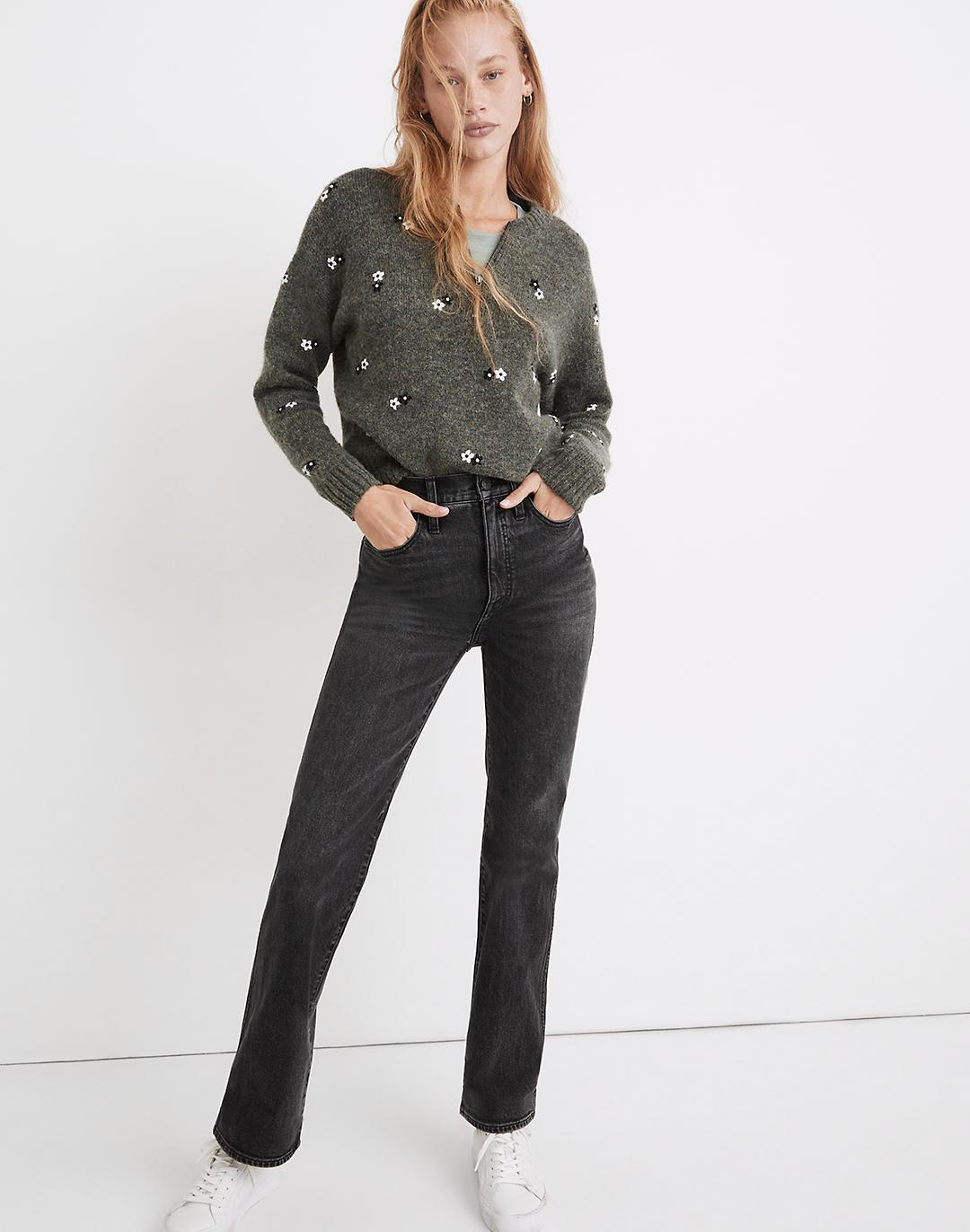 High-Rise Bootcut Jeans in Lindale Wash