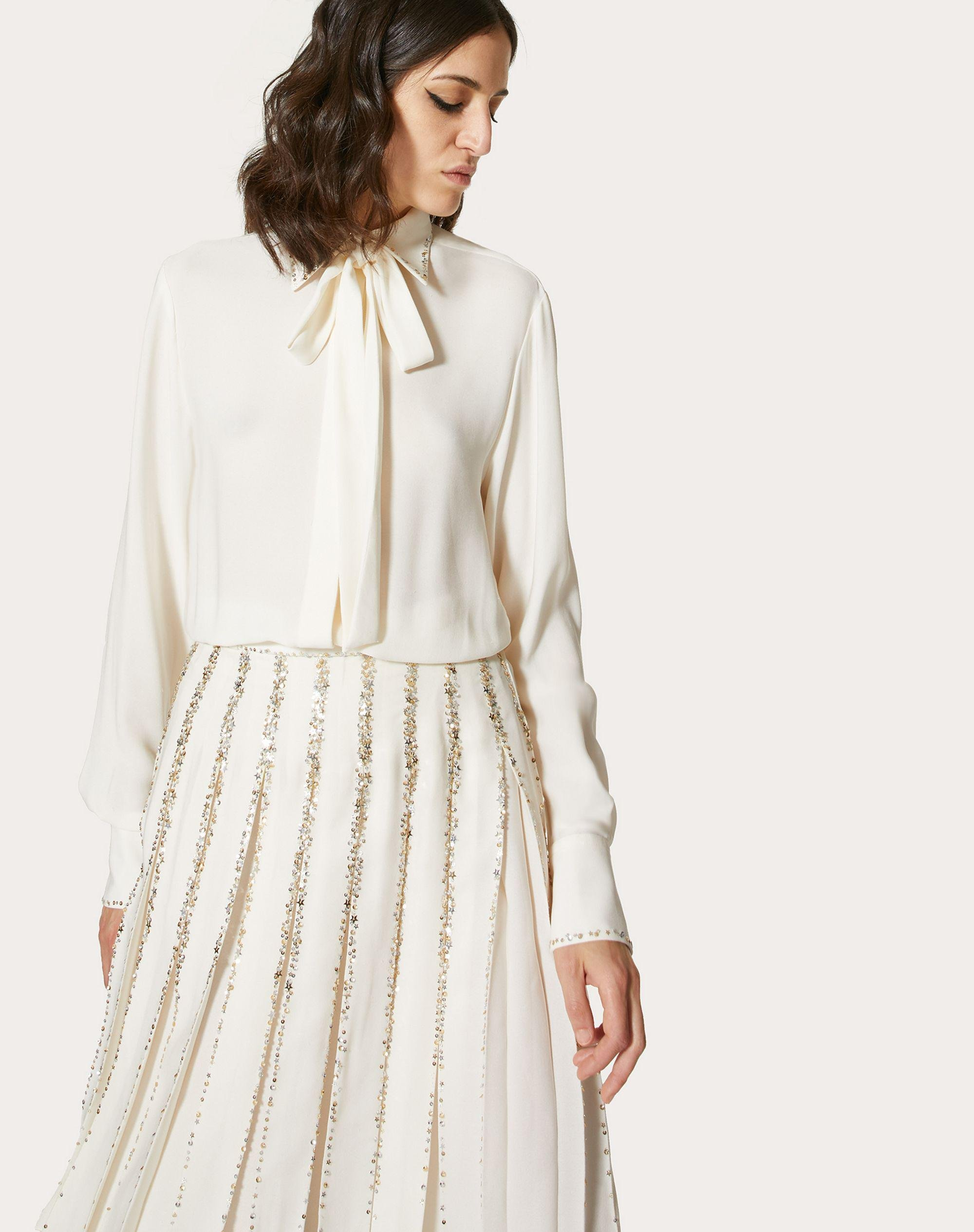EMBROIDERED GEORGETTE DRESS 3