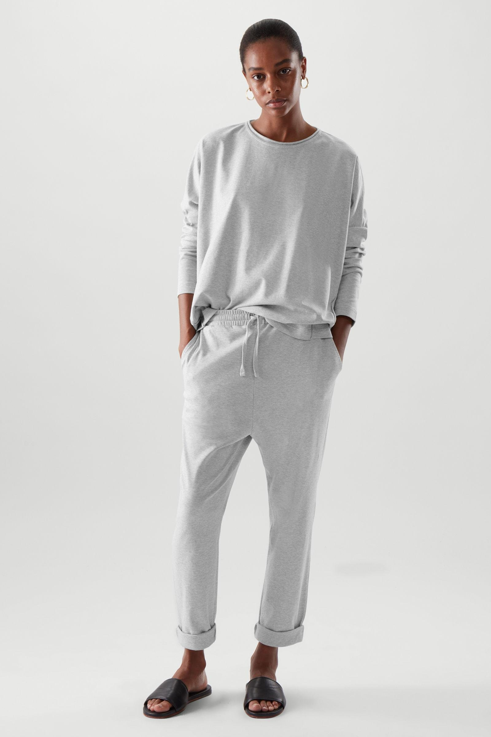 SLIM-FIT JERSEY JOGGERS