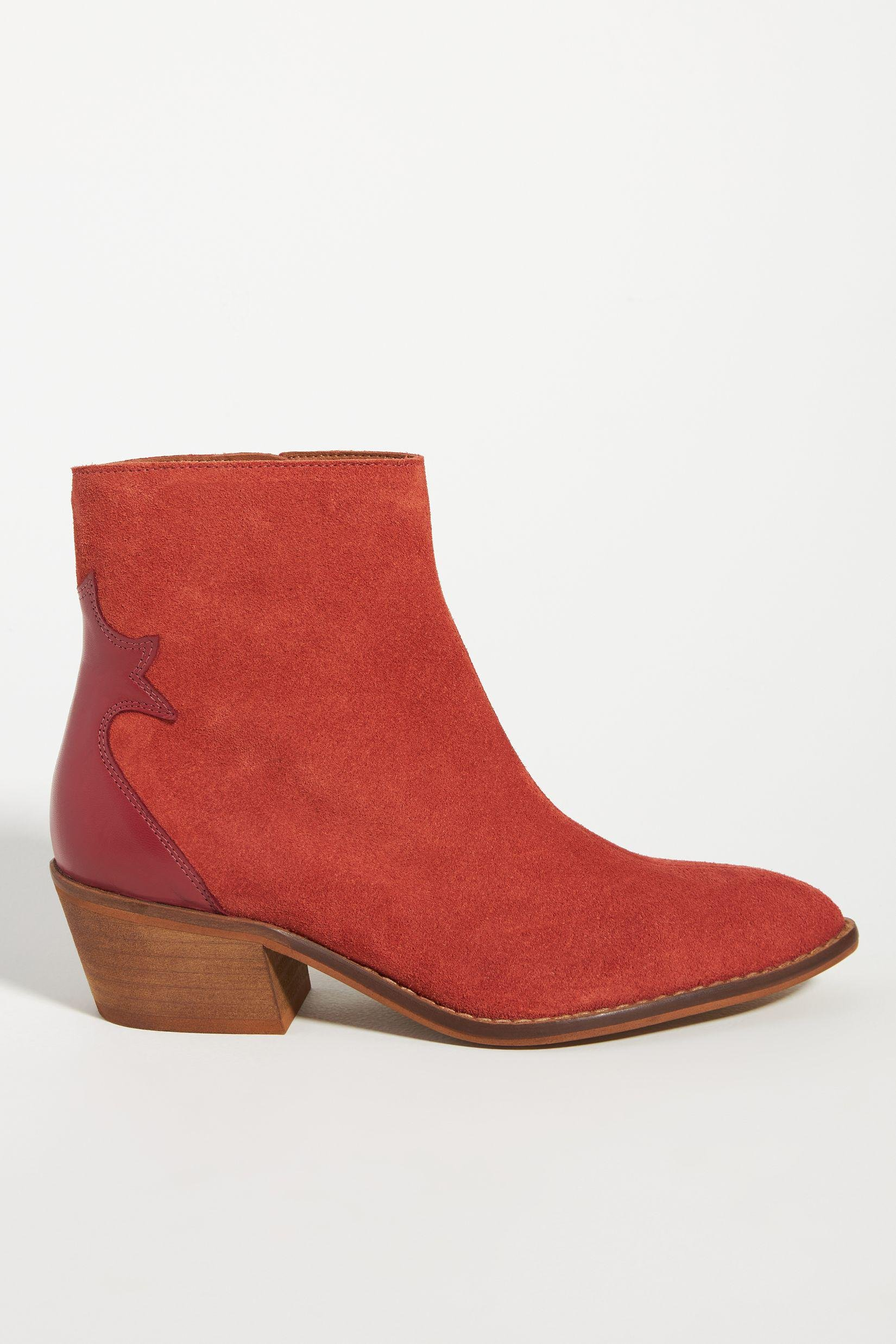 Colorblocked Western Boots