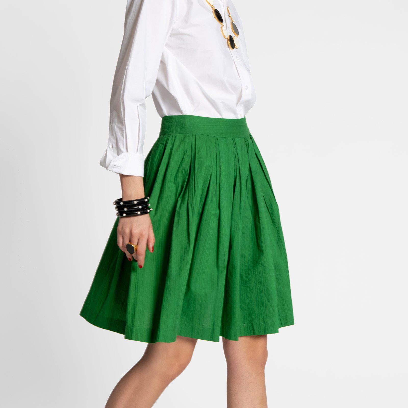 Claire Skirt Green 3