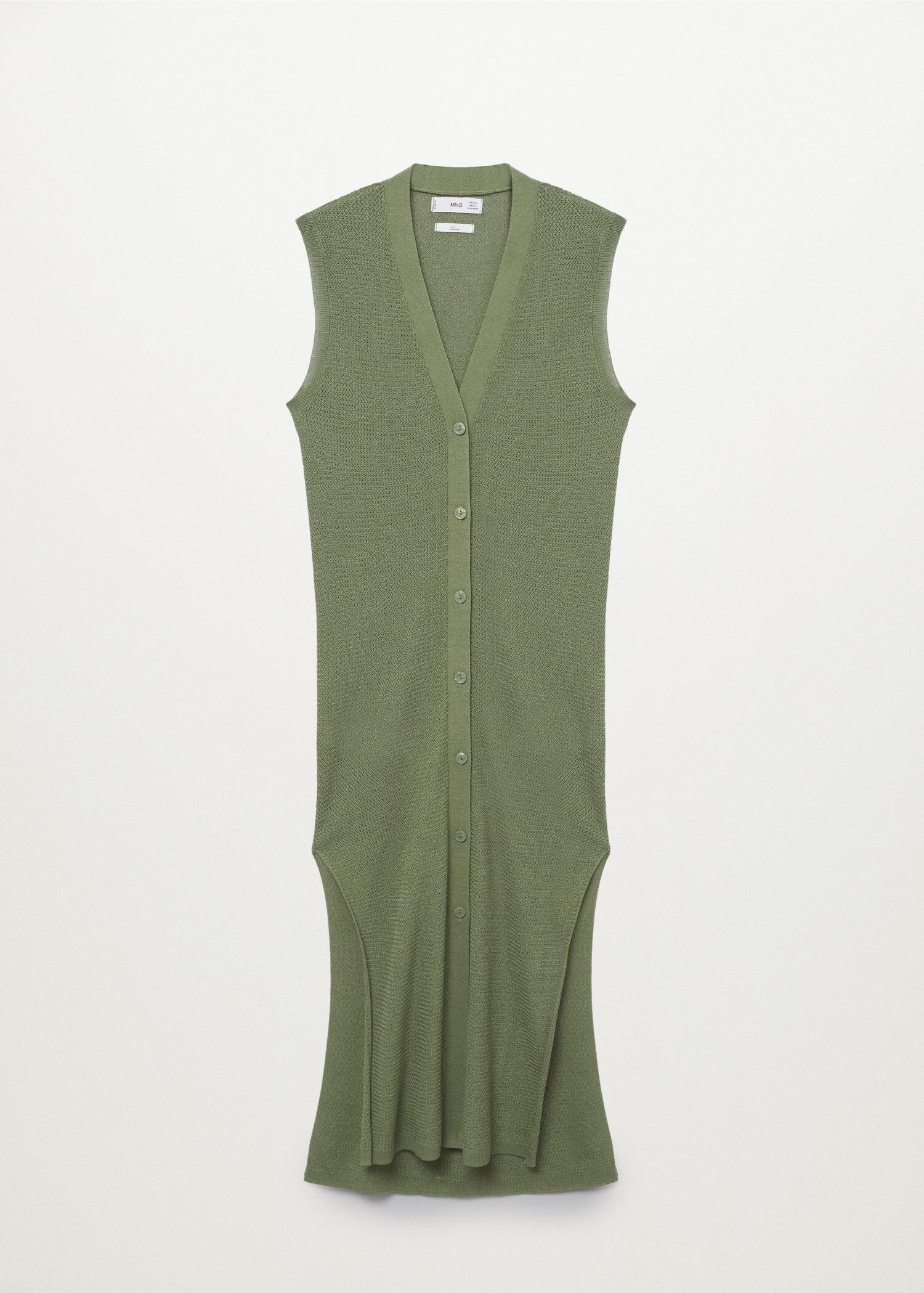Vest with side opening 8