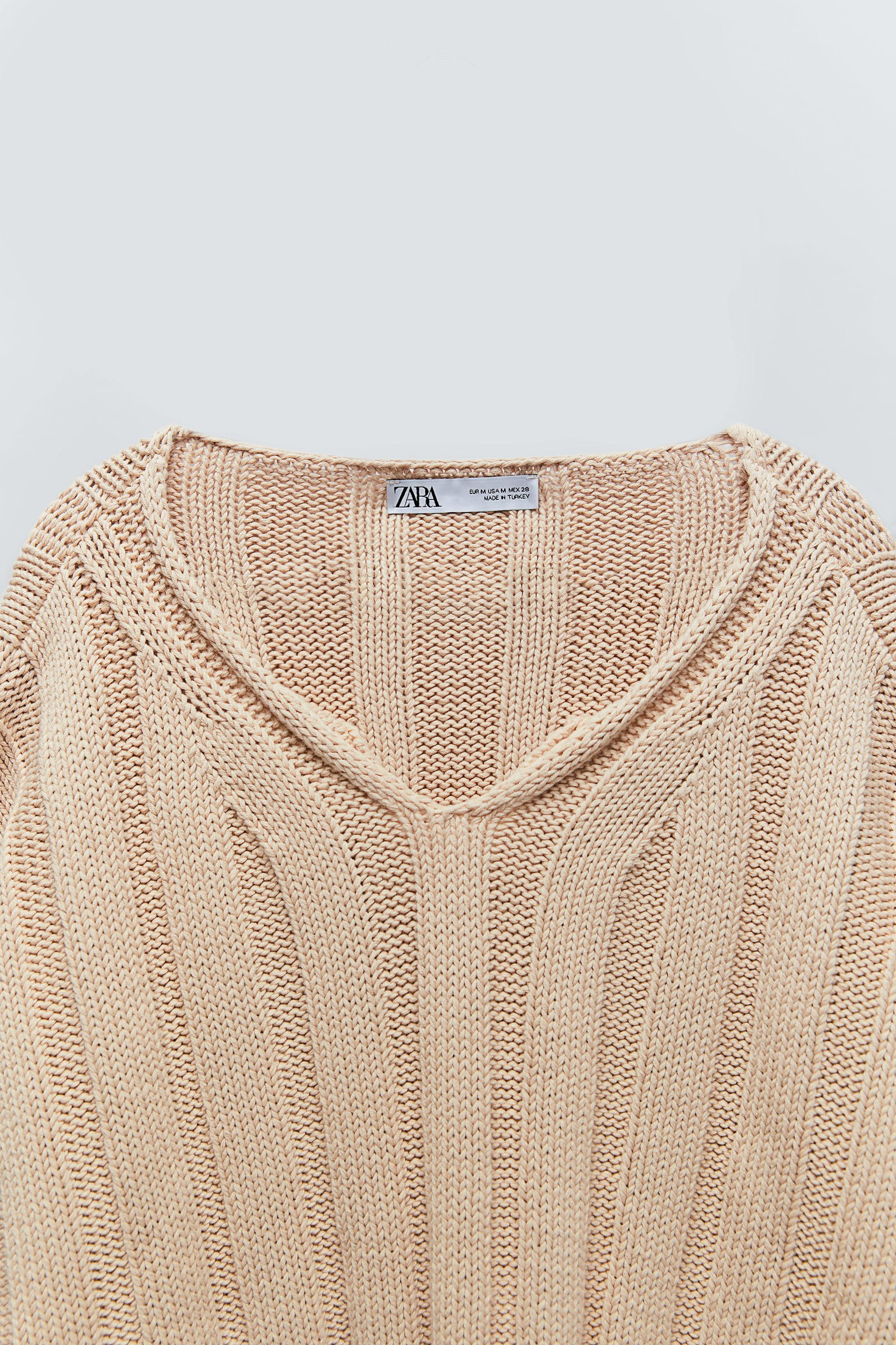 RIBBED KNIT SWEATER 6