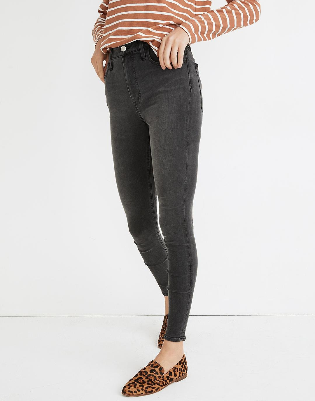 """9"""" Mid-Rise Roadtripper Supersoft Jeans in Ashmont Wash 3"""