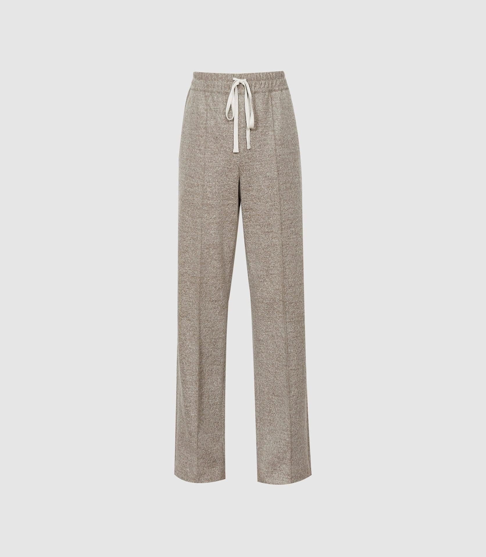 JOEY - TEXTURED WIDE LEG TROUSERS 5