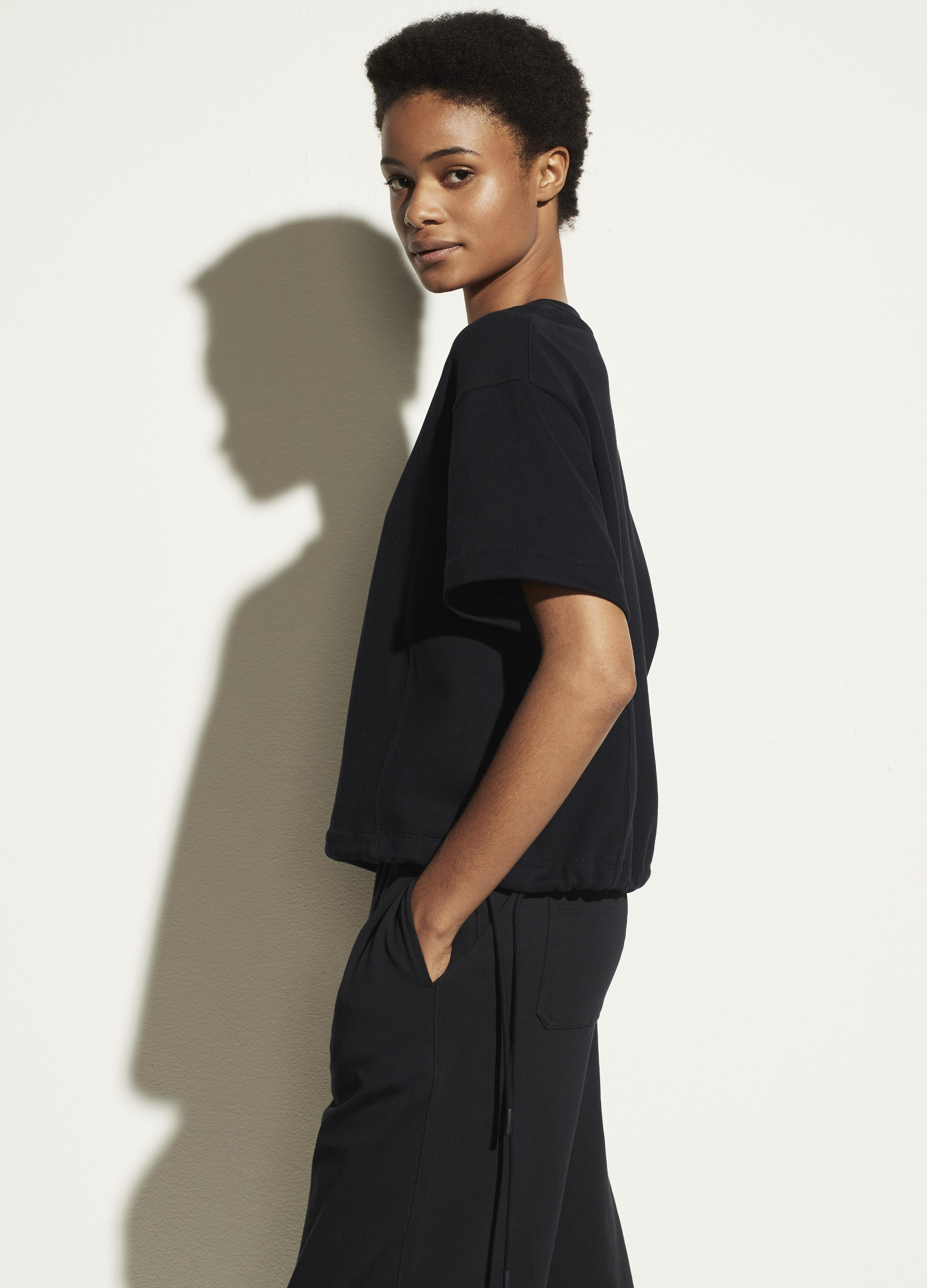 Wide Sleeve Drawcord Pullover 1