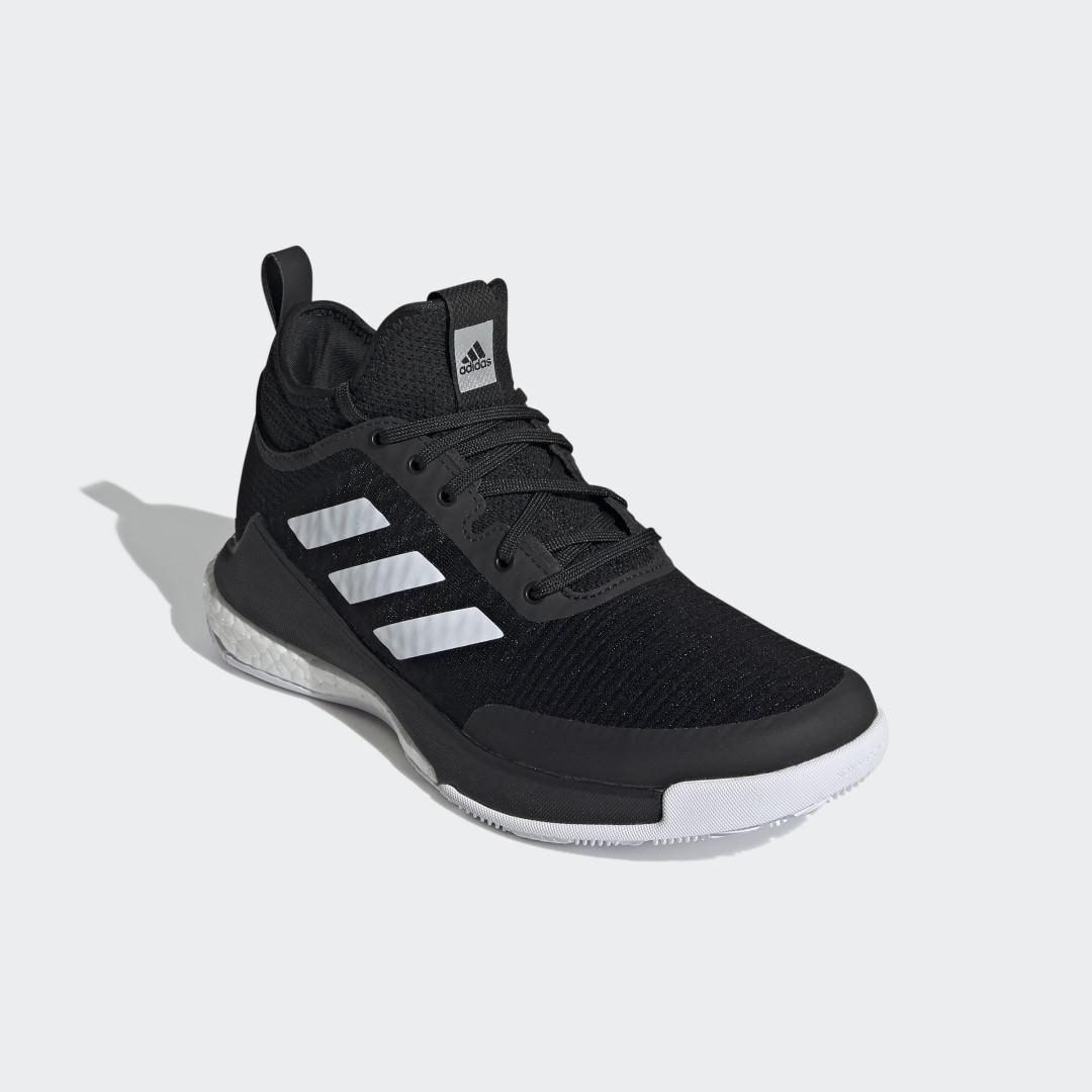 CrazyFlight Mid Volleyball Shoes Black