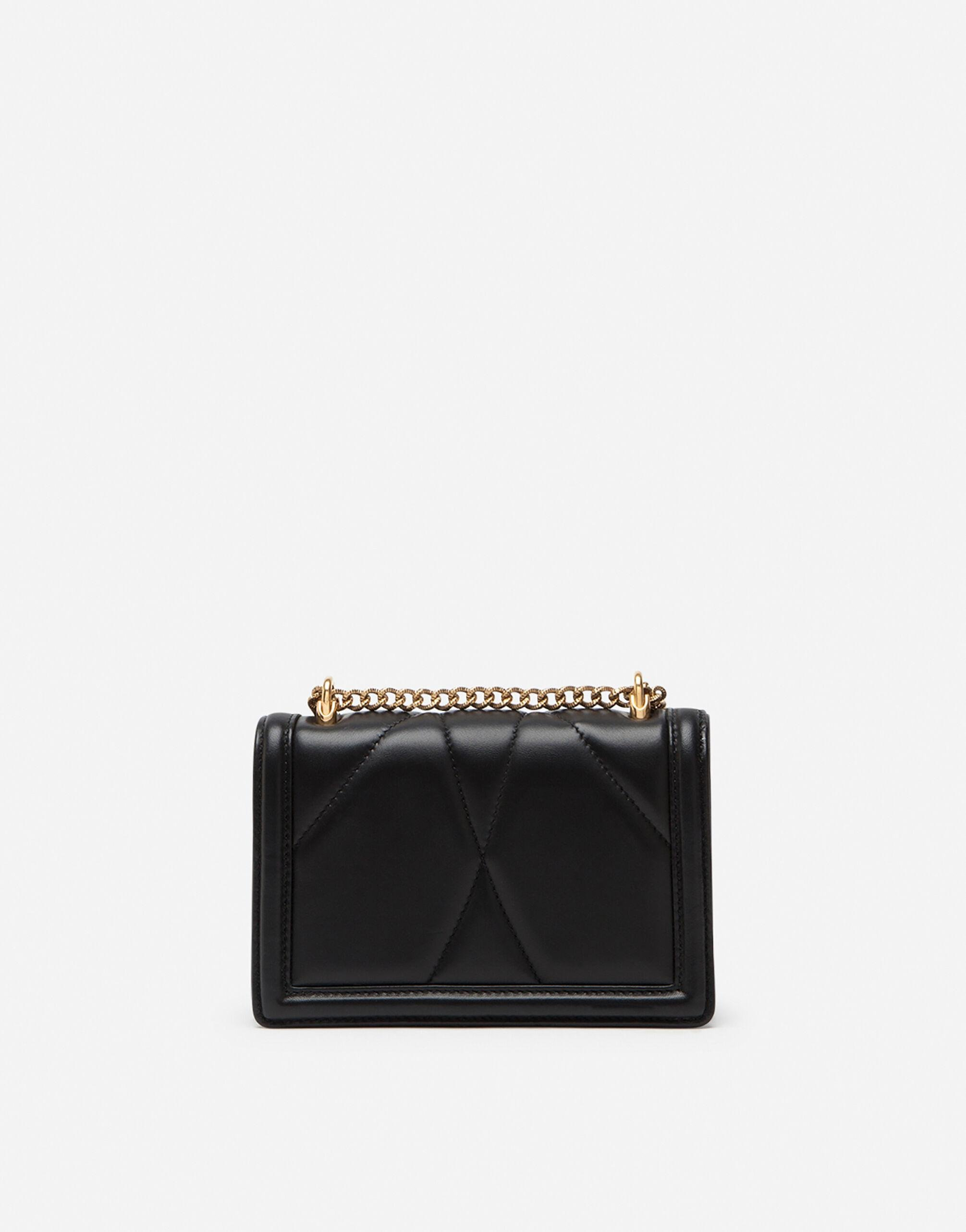 Small Devotion crossbody bag in quilted nappa leather 2