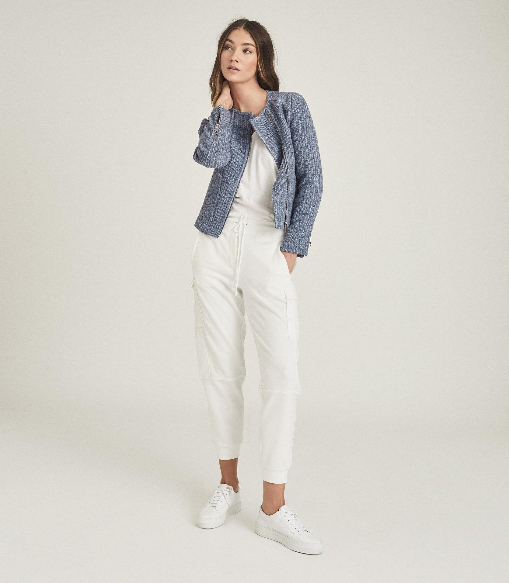 ESSIE - CROPPED BOUCLE JACKET