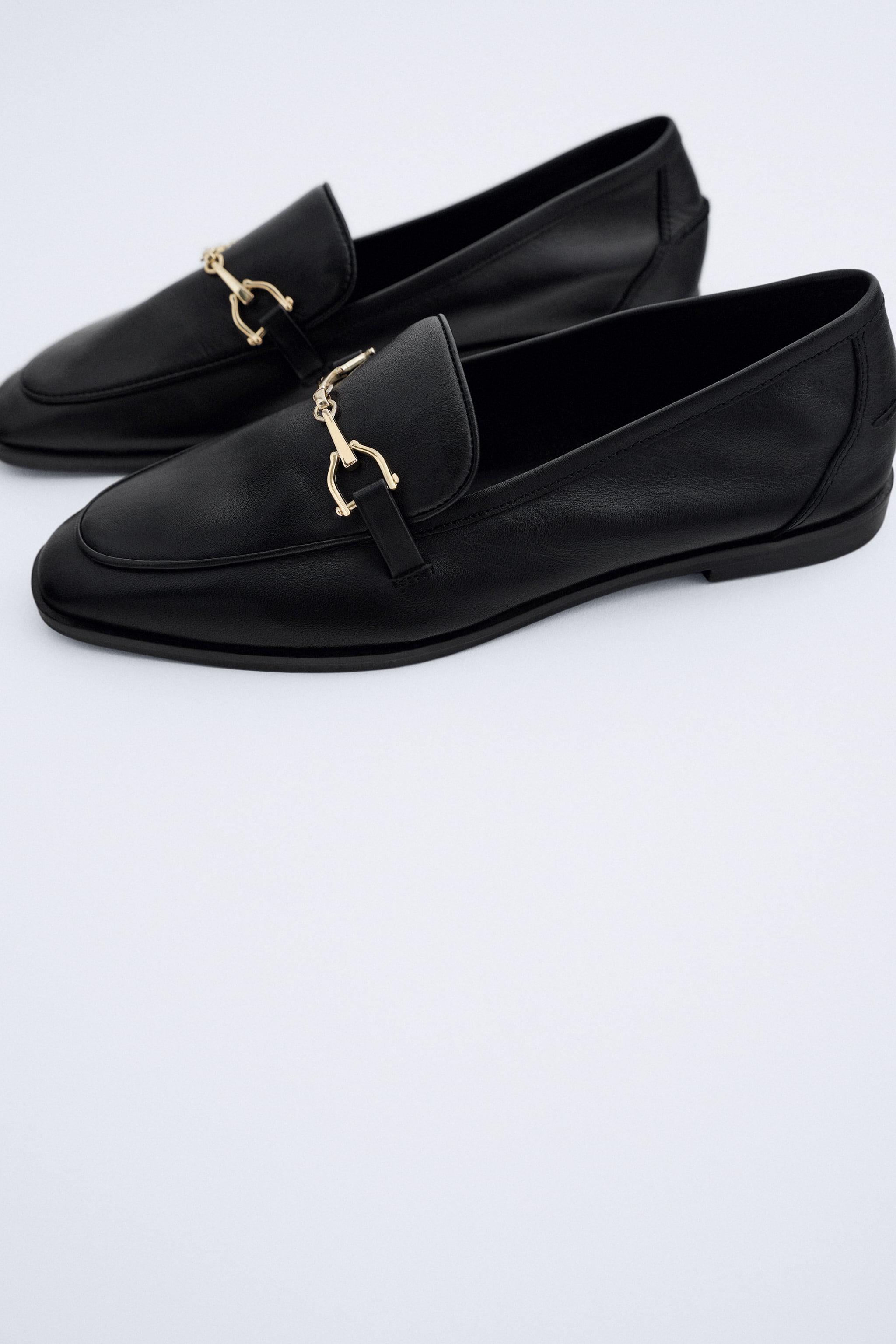 BUCKLED LEATHER LOAFERS 2