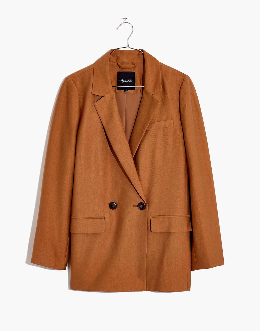 Plus Caldwell Double-Breasted Blazer: Two Button Edition