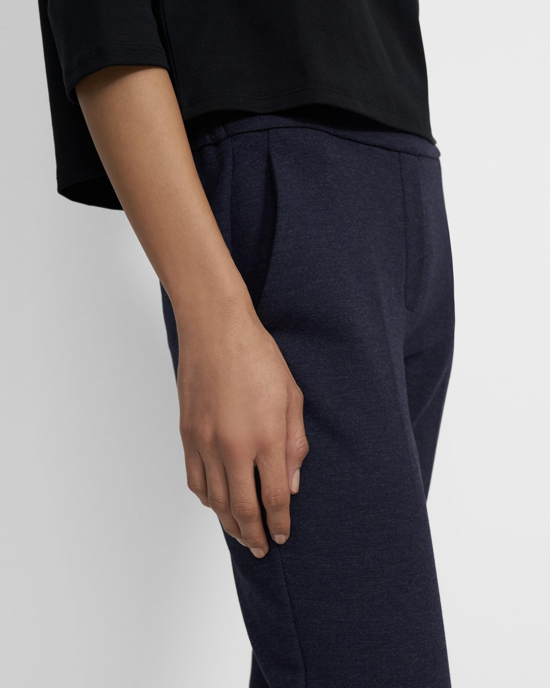 Treeca Pull-On Pant in Double-Knit Jersey 1