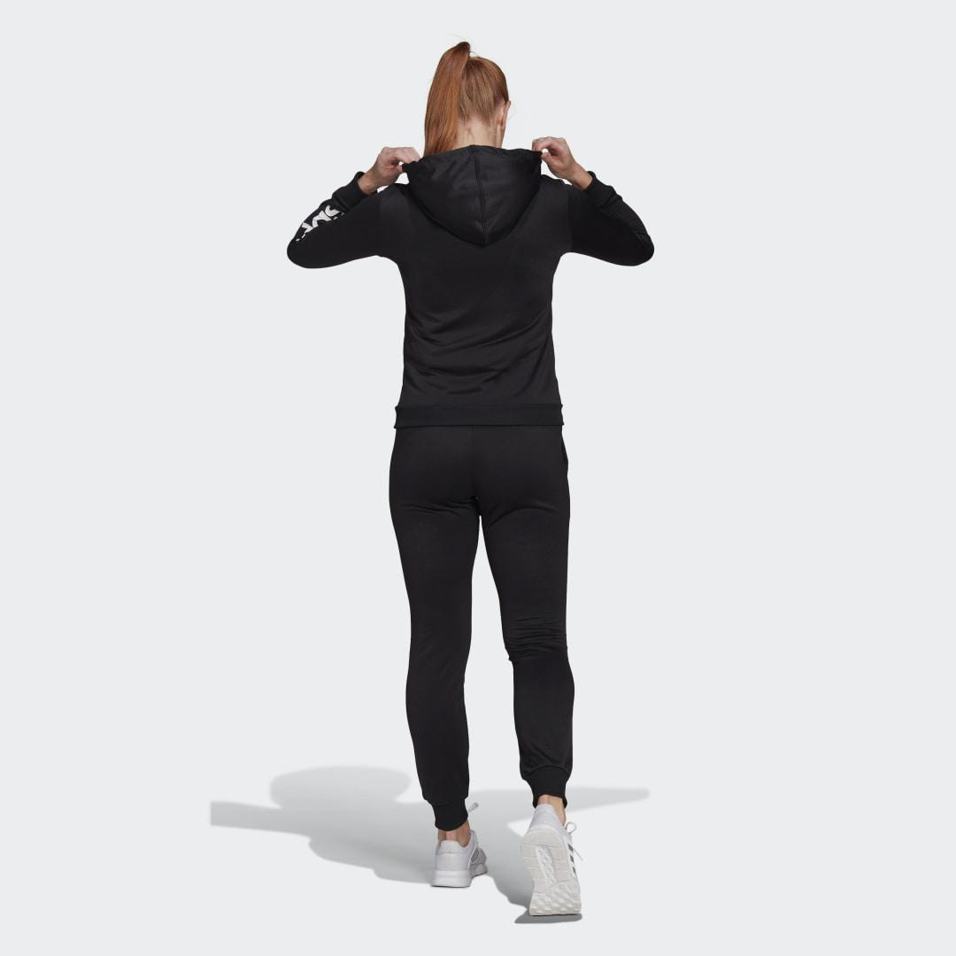Essentials Logo French Terry Track Suit Black 1