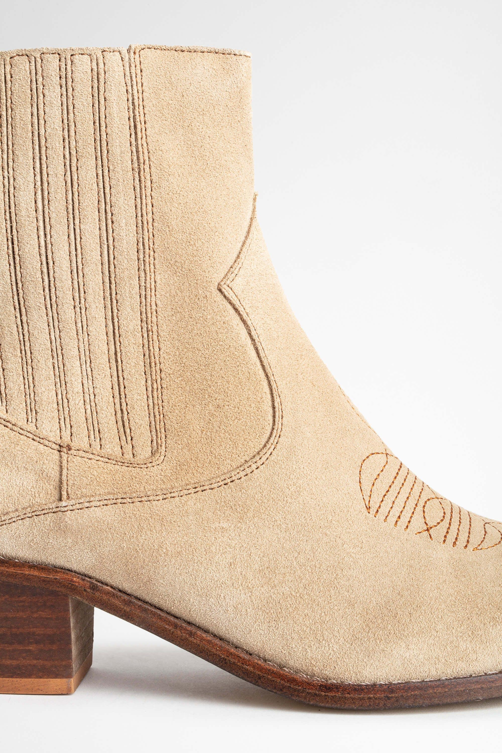 Tyler Suede Ankle Boots 5