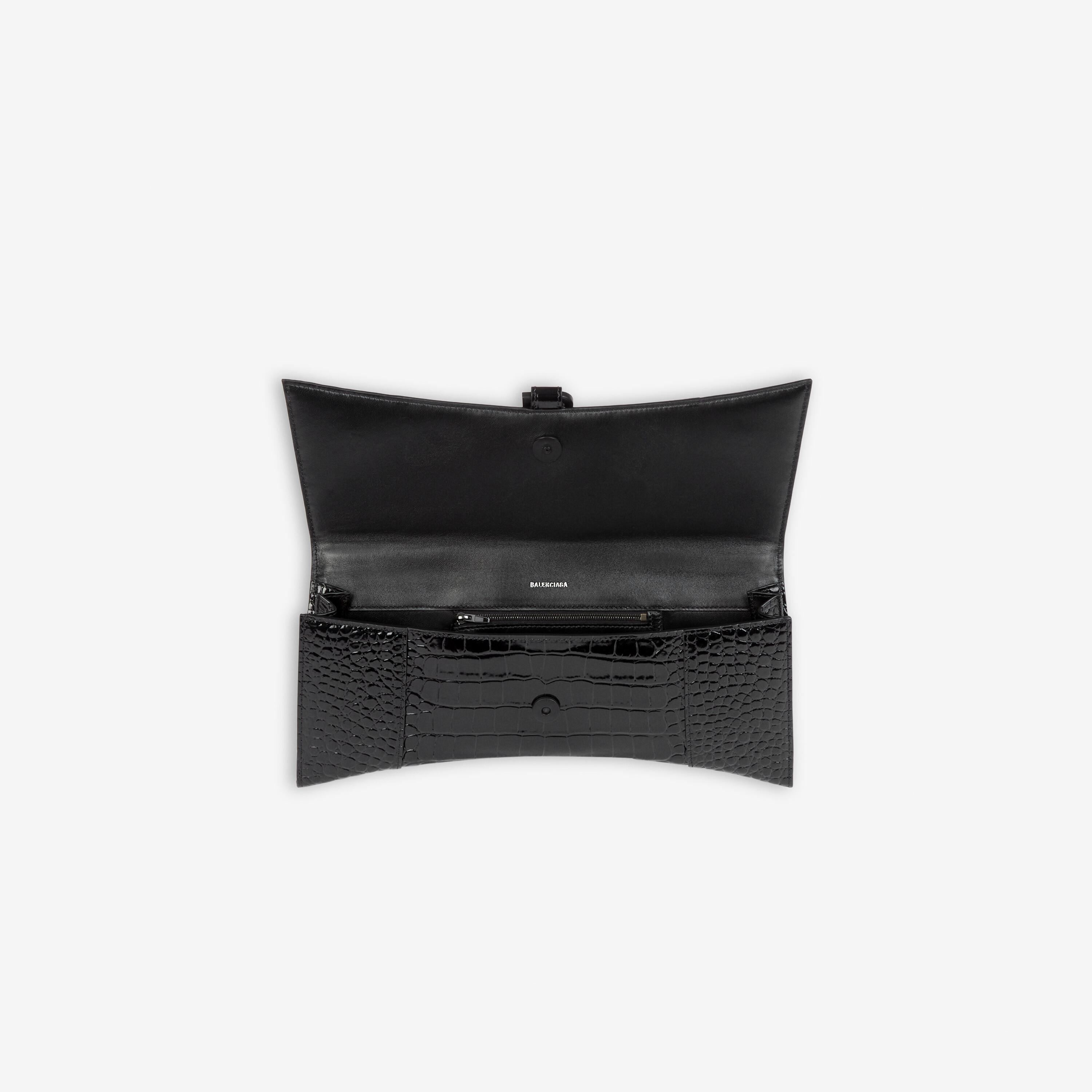 Hourglass Stretched Top Handle Bag 4