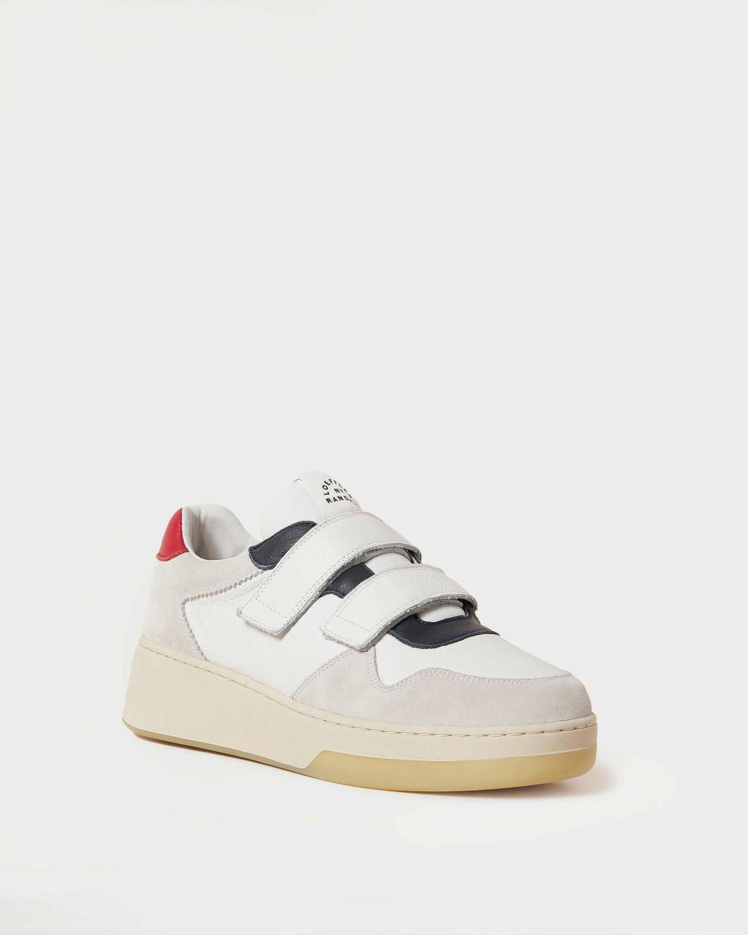 Cameron Ivory/Red Sneaker