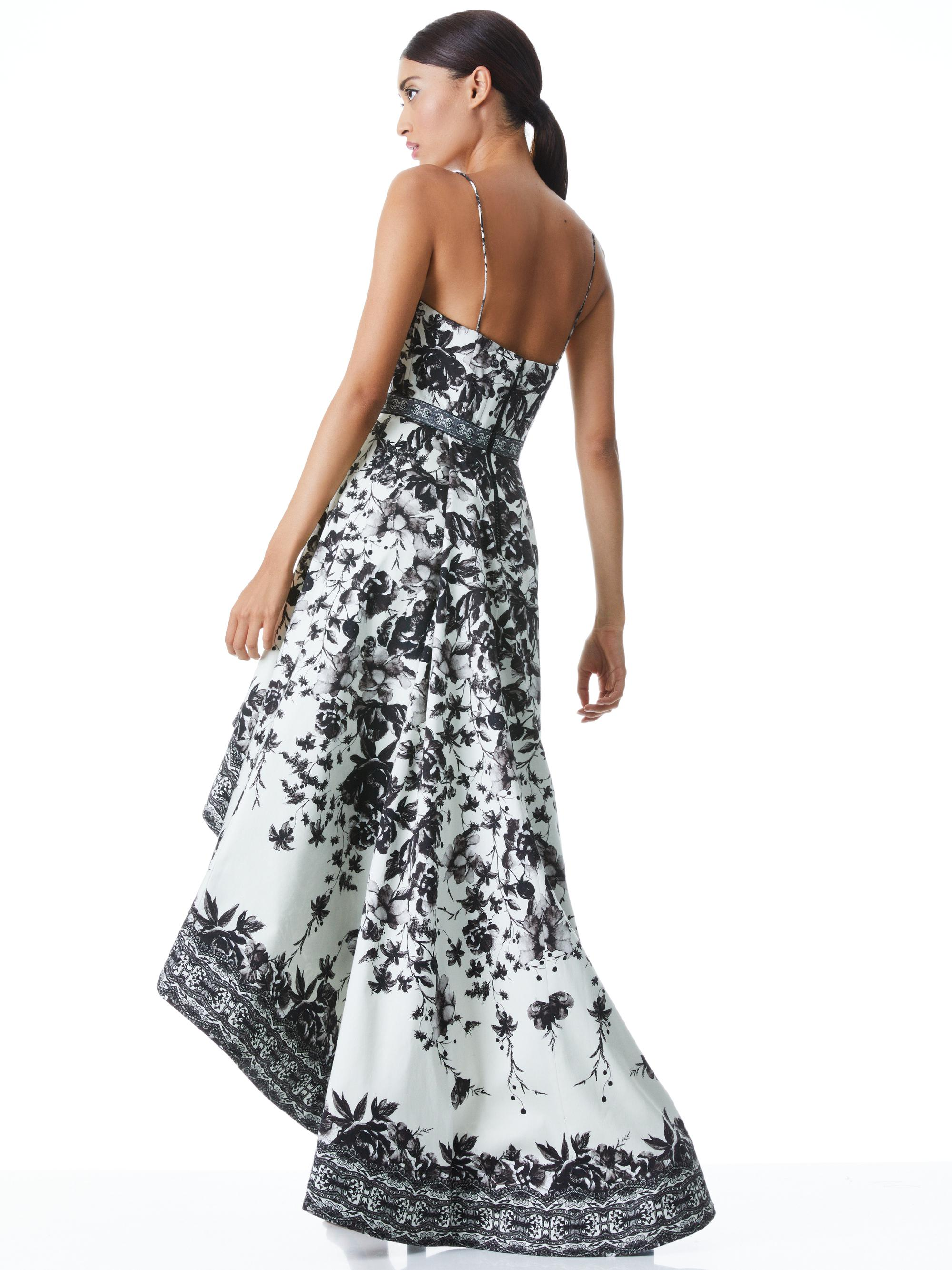 FLORENCE HIGH LOW GOWN 1