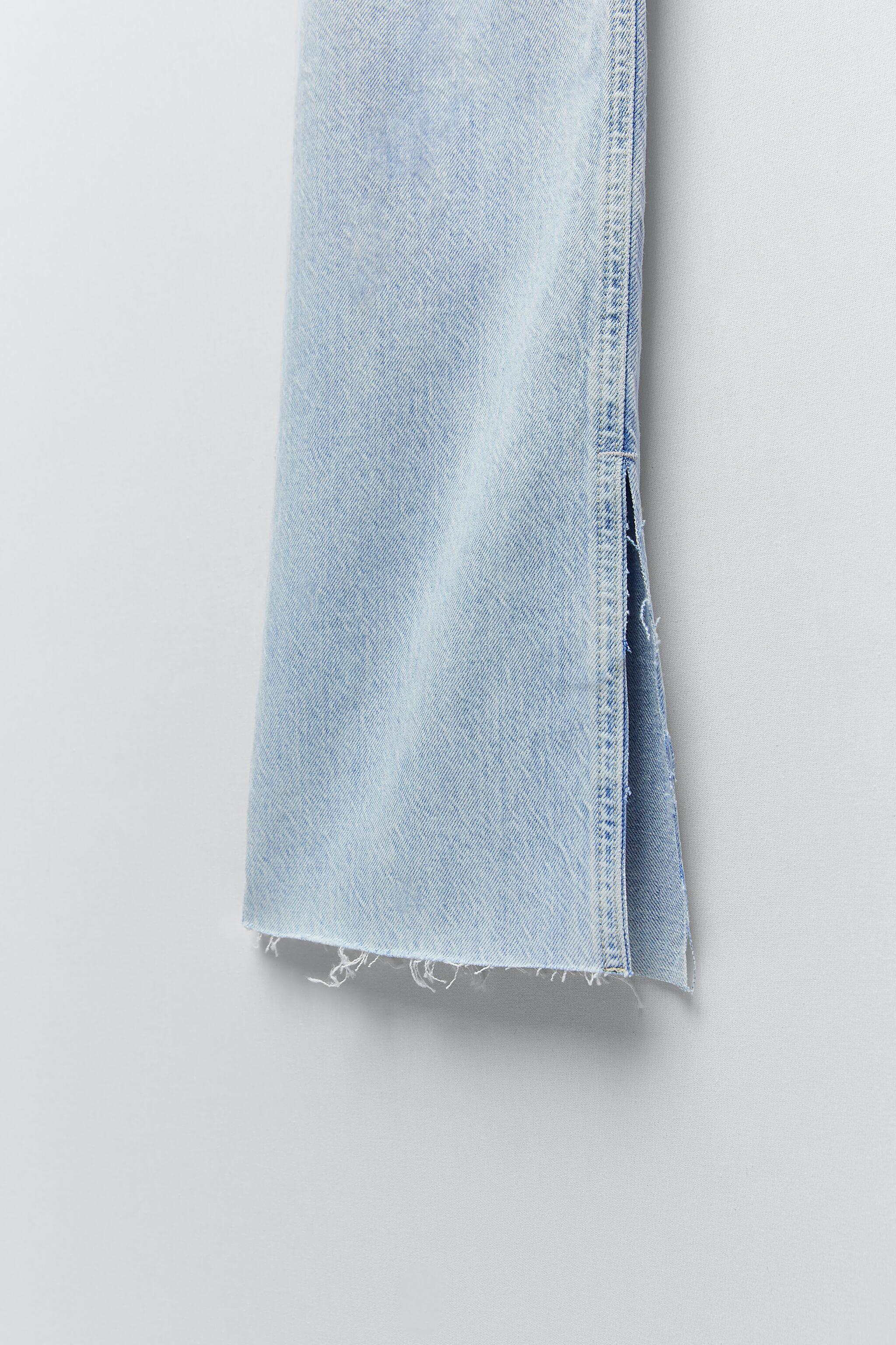 Z1975 FLARED RIPPED SLIM FIT JEANS 8