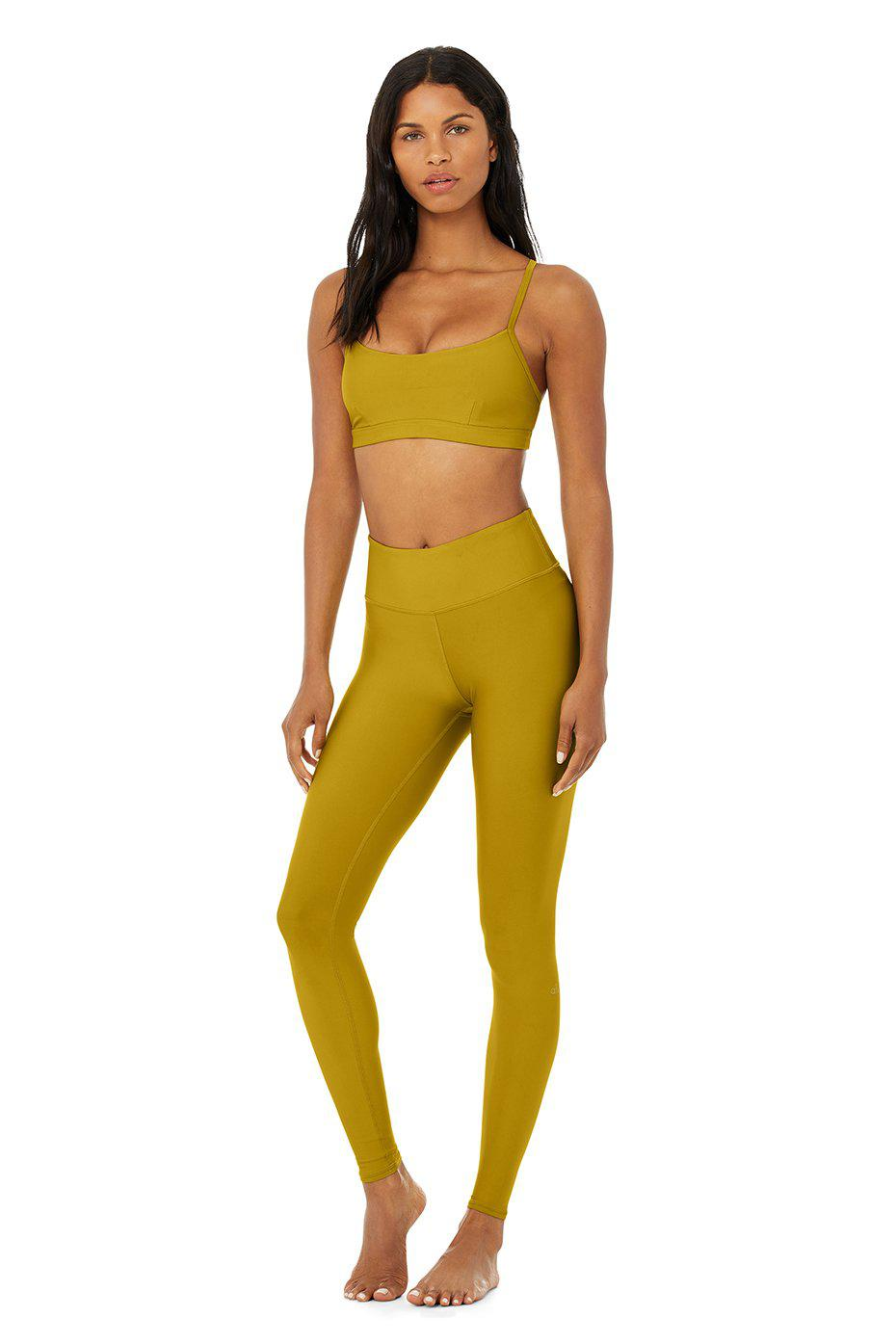 Airlift Intrigue Bra - Chartreuse 5