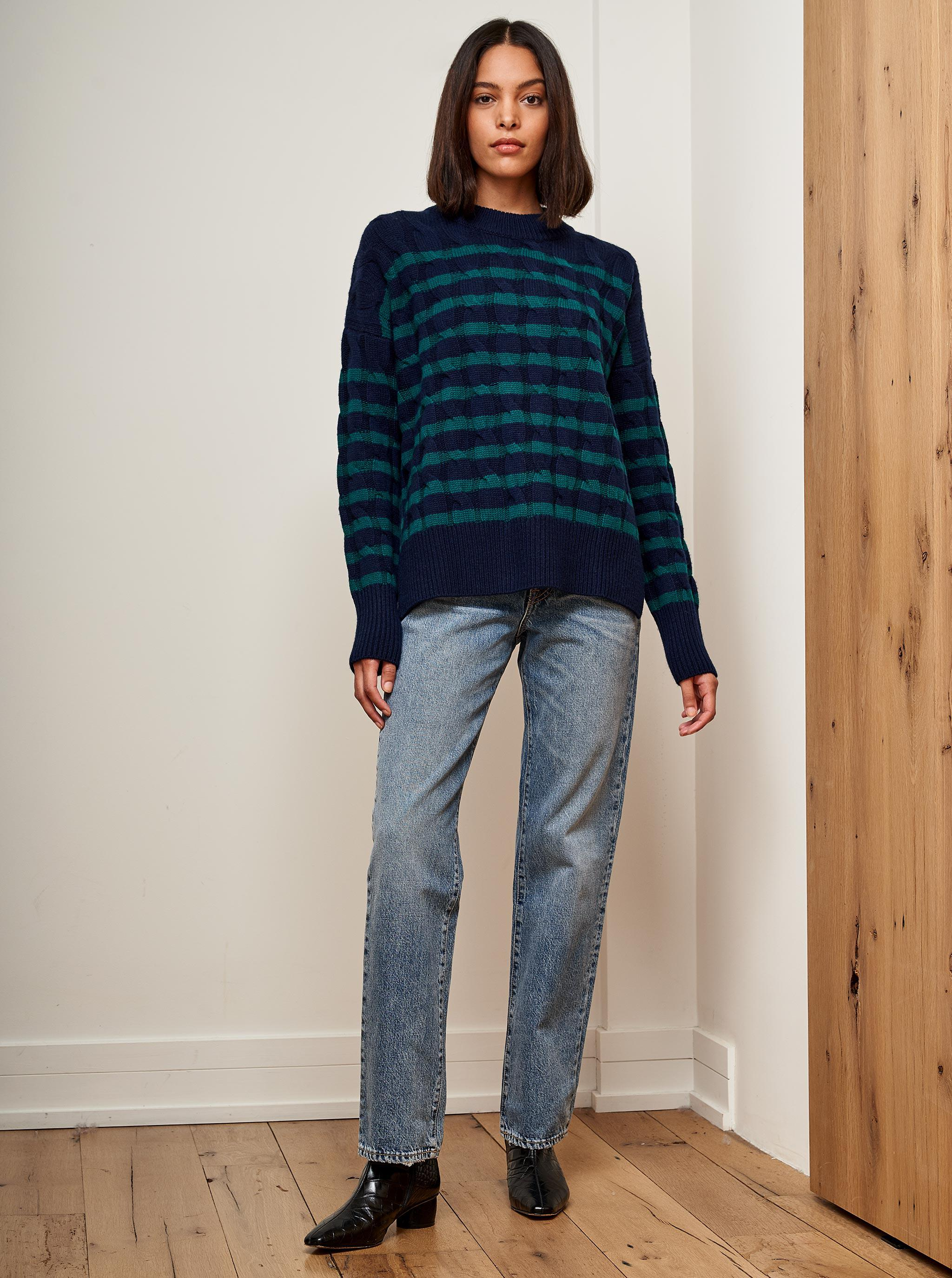 Cable Marin Sweater