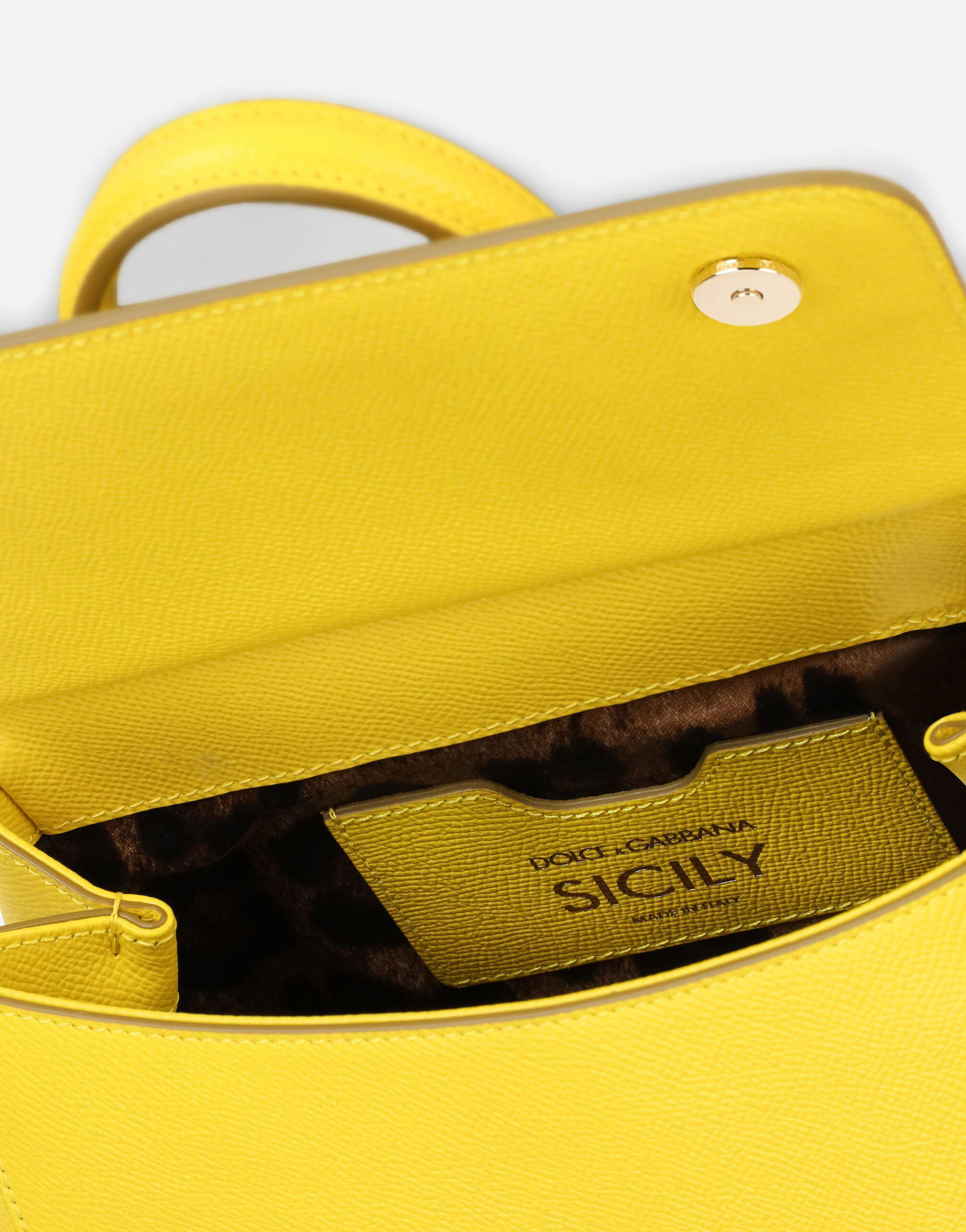 Small Sicily bag in dauphine calfskin 3