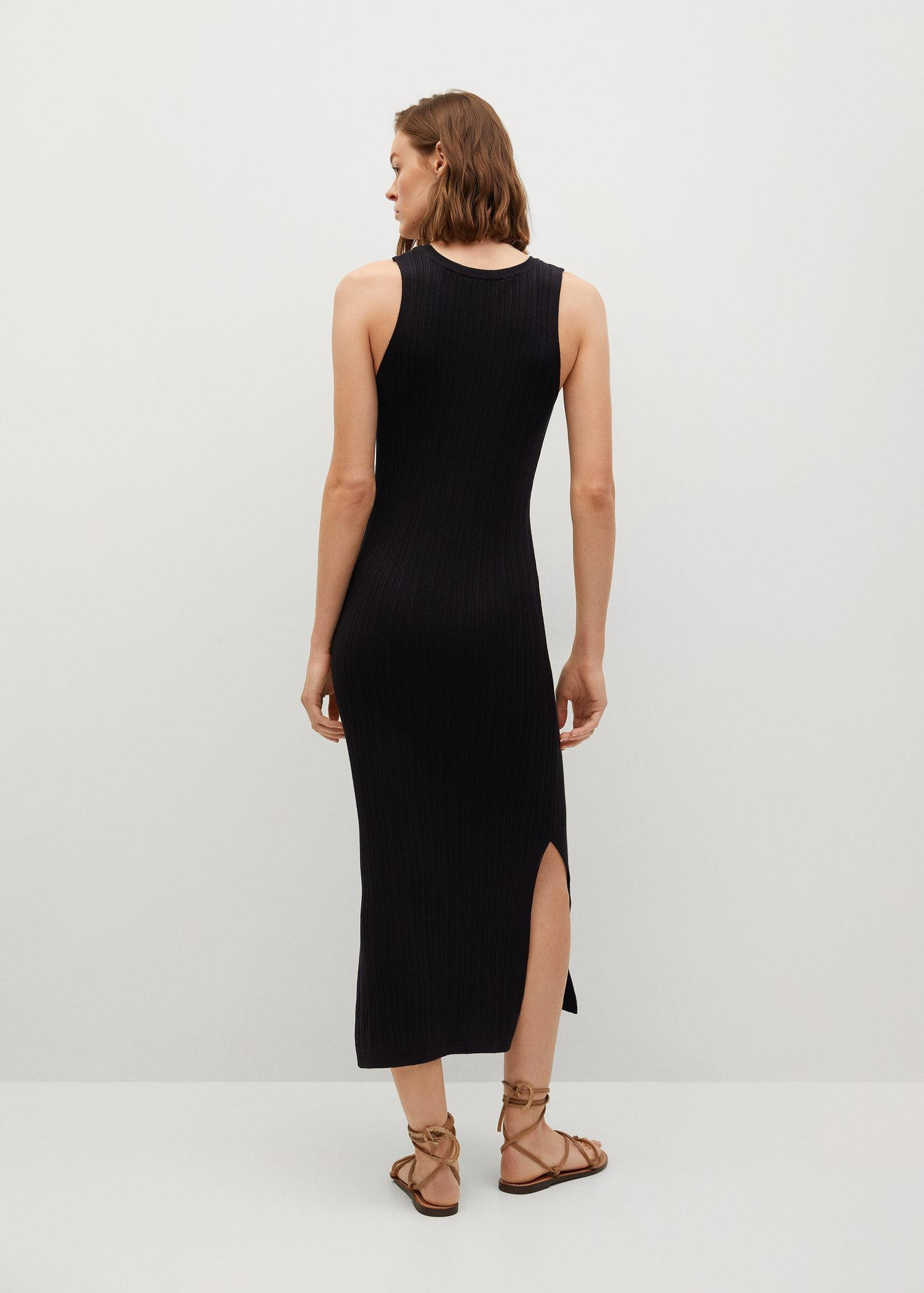 Tailored ribbed dress 2