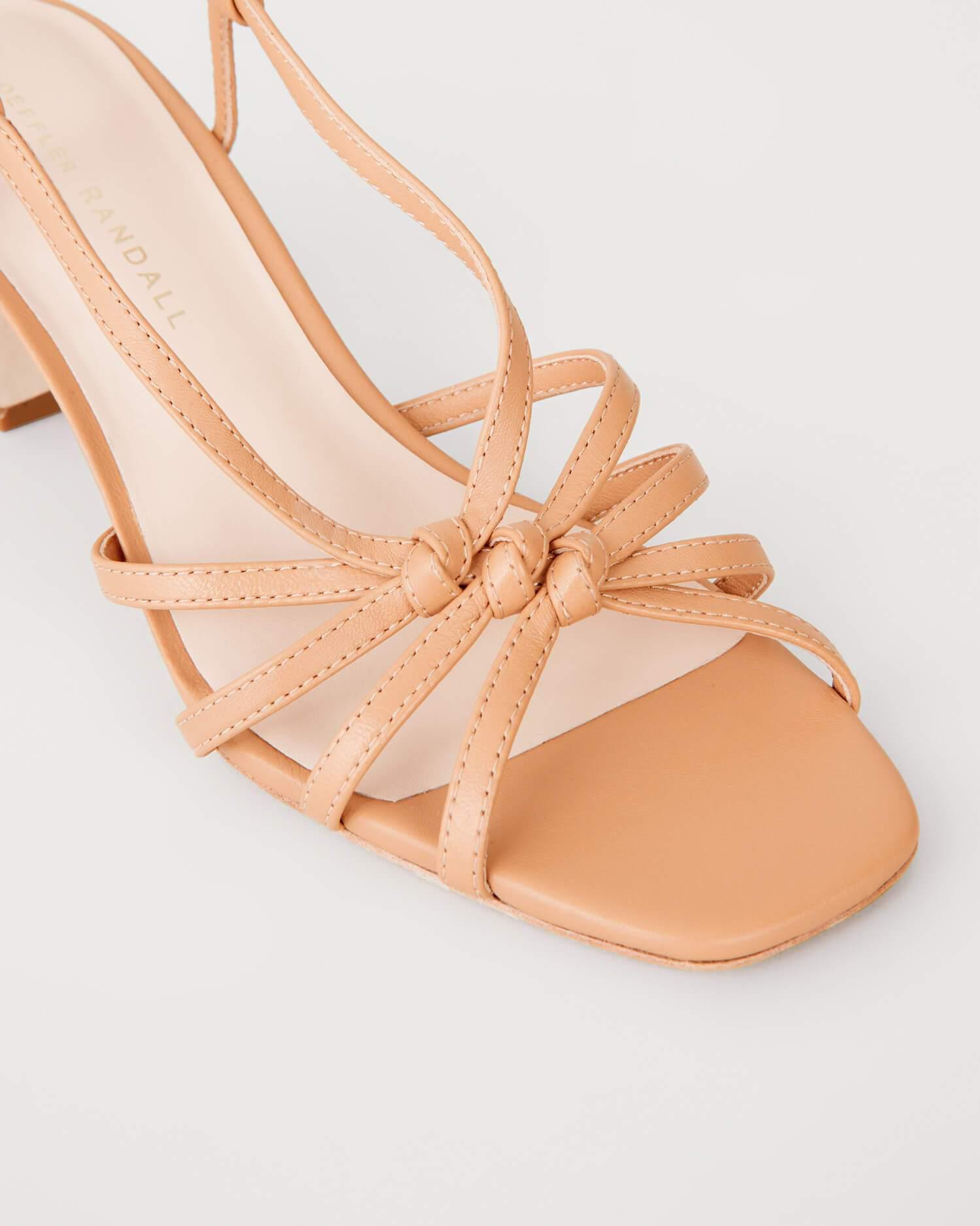 Libby Knotted Wrap Sandal Dune 2