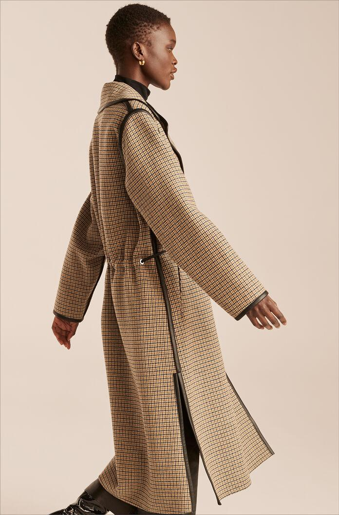 DOUBLE FACED WOOL TRENCH COAT 2