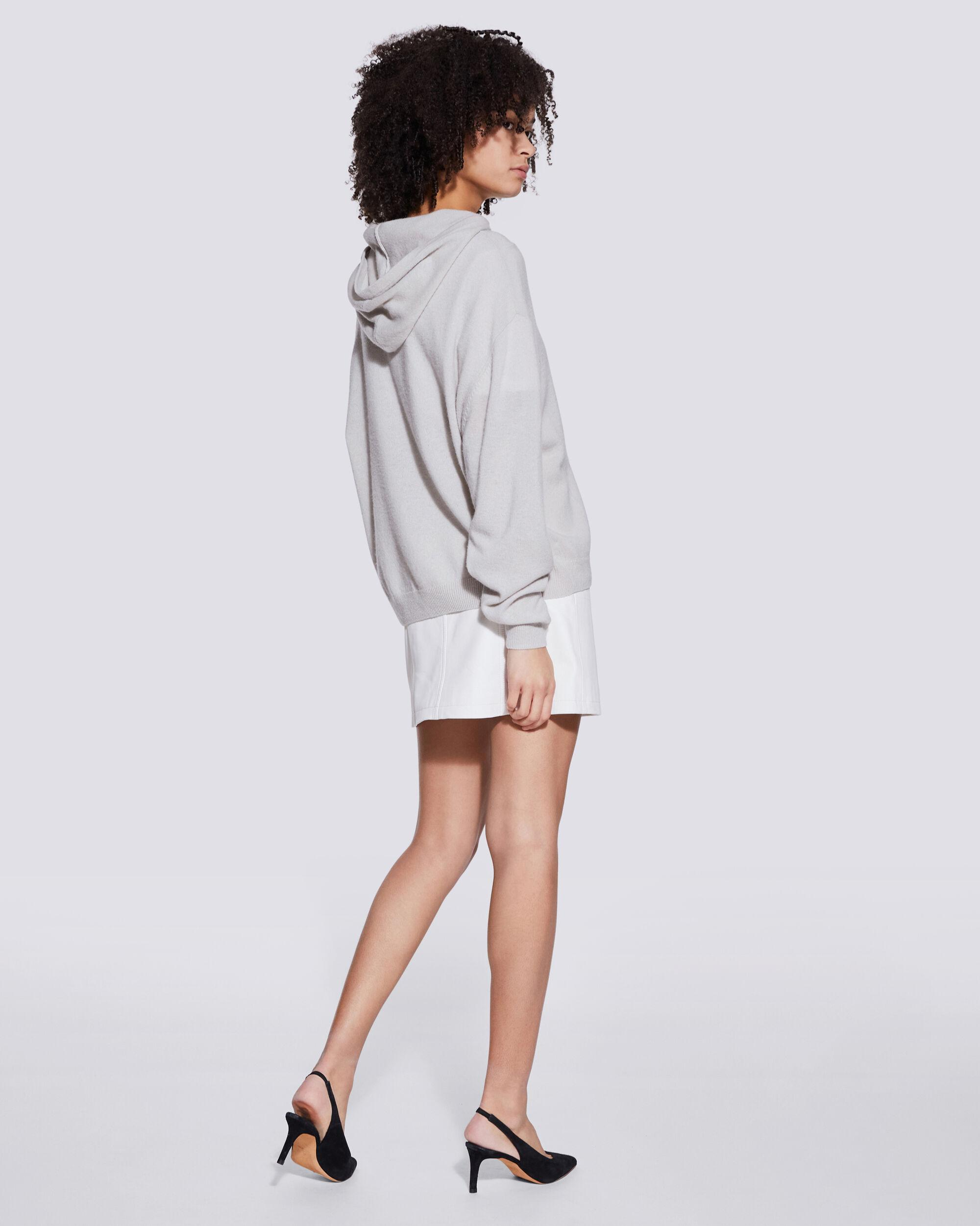 TIAGO COTTON AND CASHMERE HOODED SWEATSHIRT 2