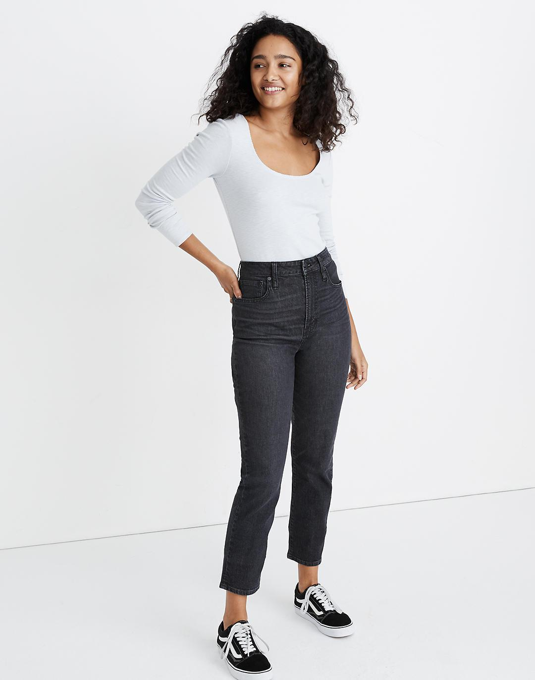 The Tall Curvy Perfect Vintage Jean in Sumner Wash