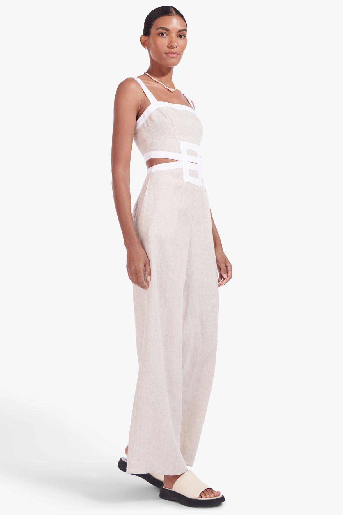 SHELLY JUMPSUIT | NATURAL WHITE 6