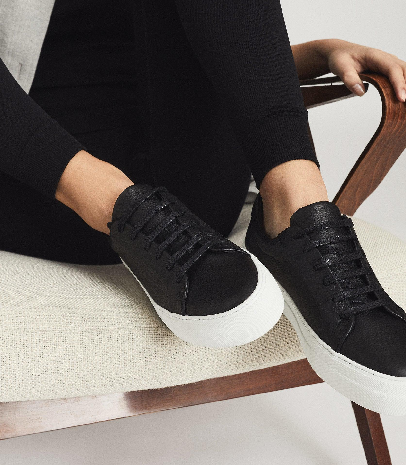 LUCA - TUMBLED LEATHER SNEAKERS 5