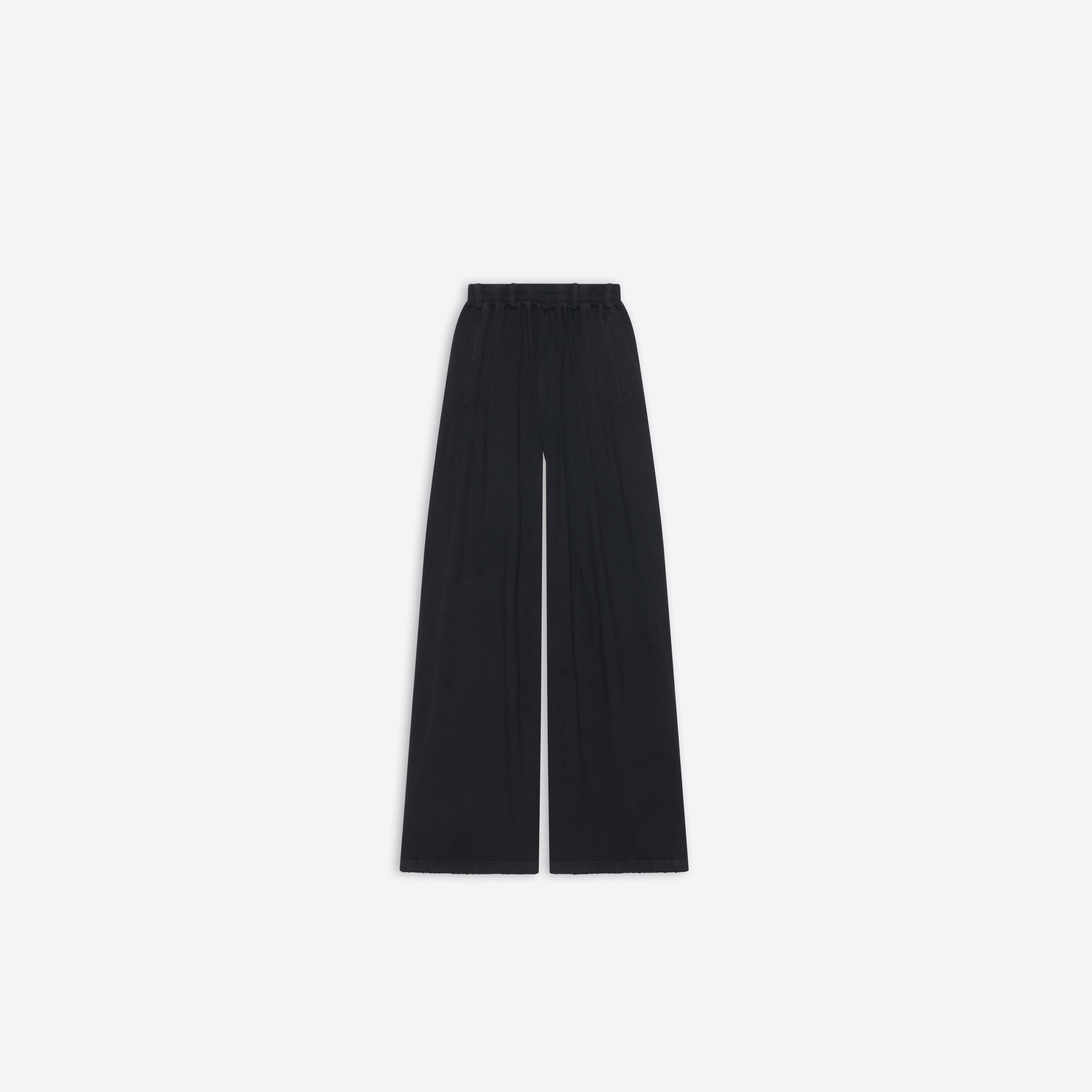 Oversize Worn-Out Pants 0