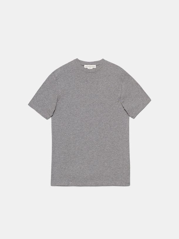 Grey Golden T-shirt with Sneakers Lovers print 4