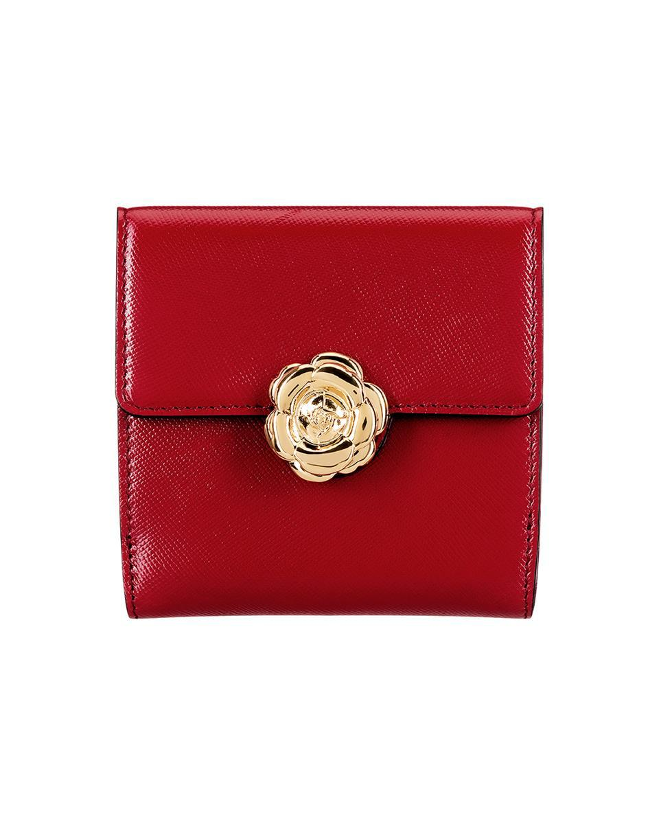 RED FRENCH WALLET