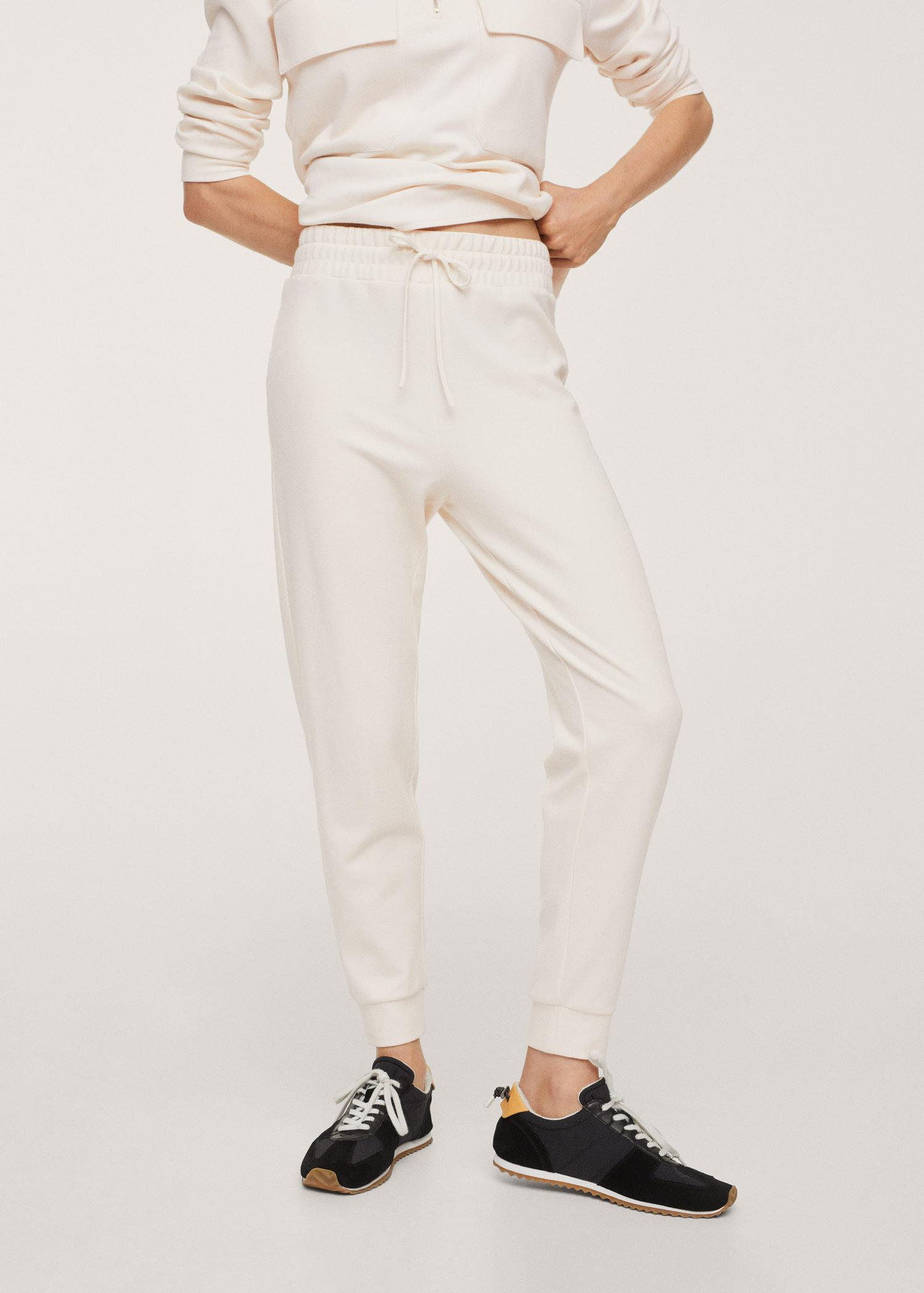 Cotton jogger-style trousers 0