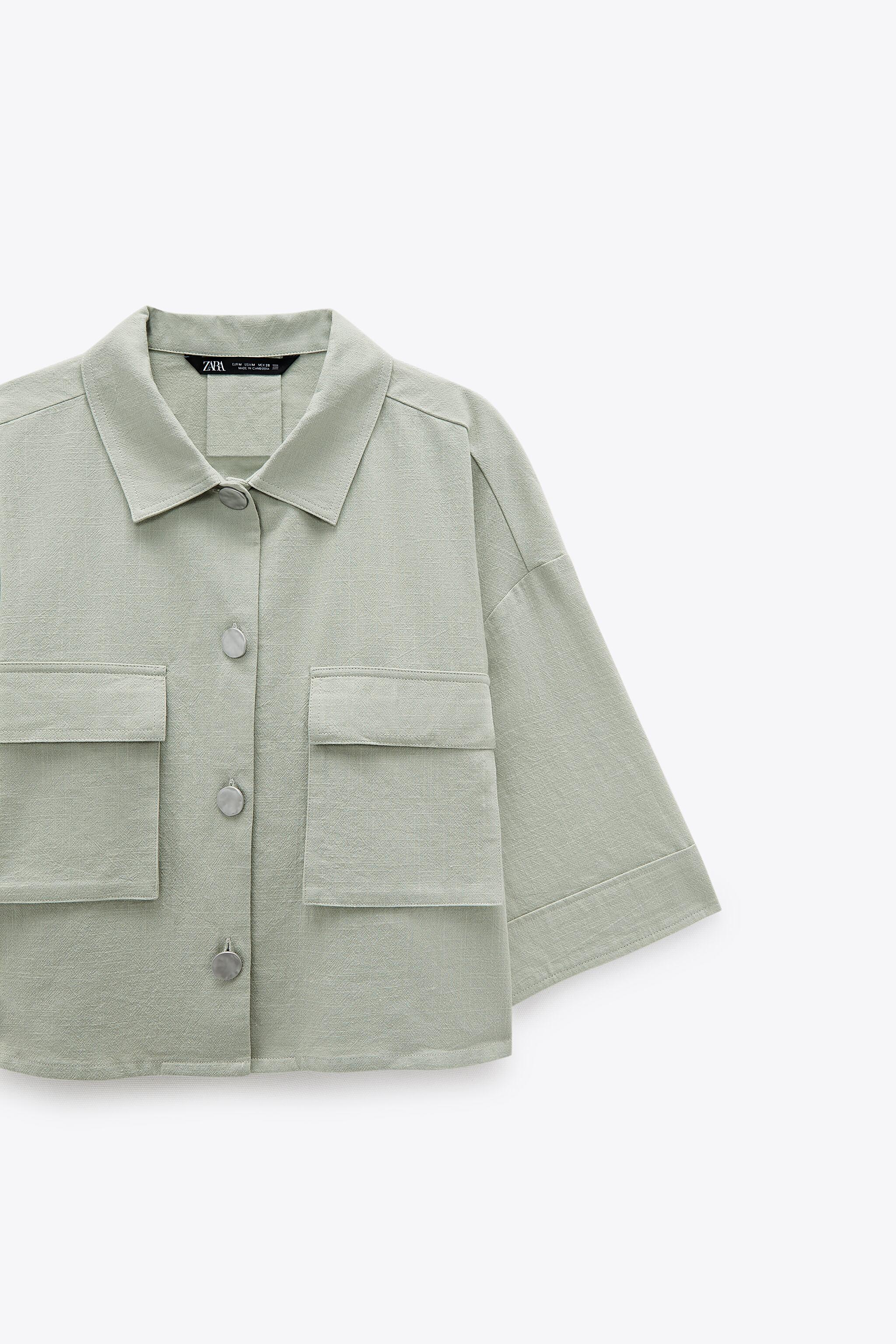 RUSTIC CROPPED SHIRT 6