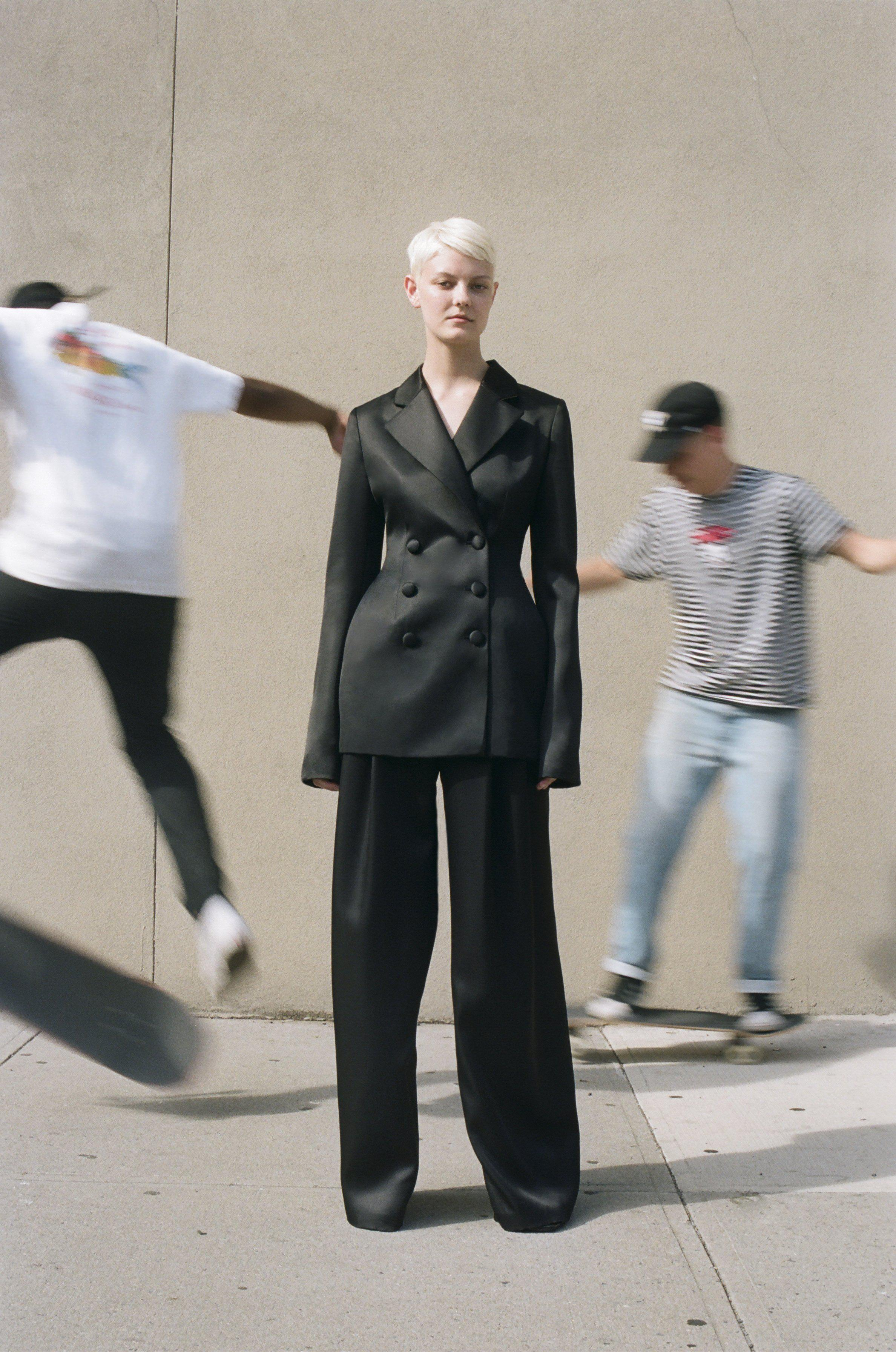 Pleated Trousers 1