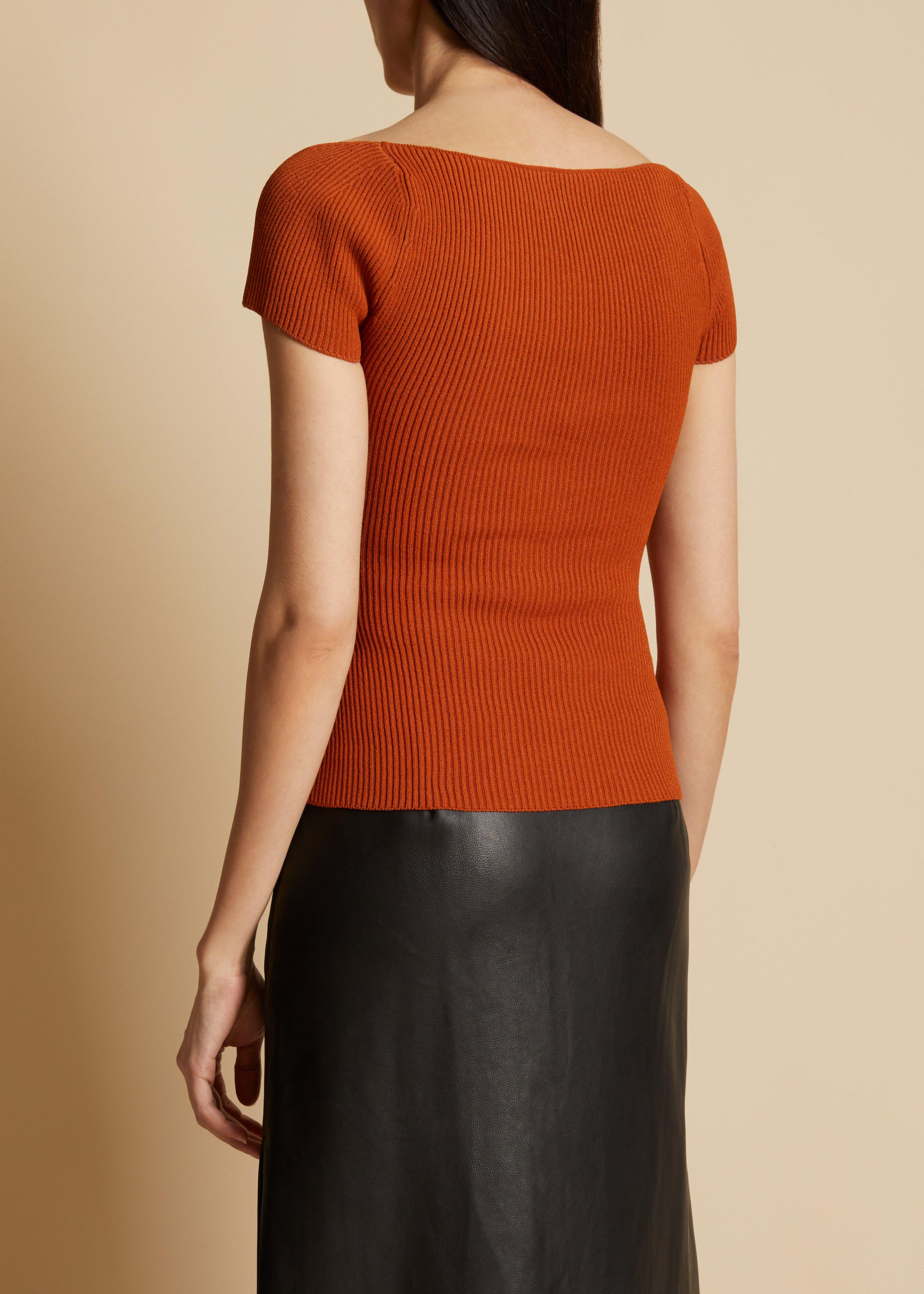 The Ista Top in Sienna 2