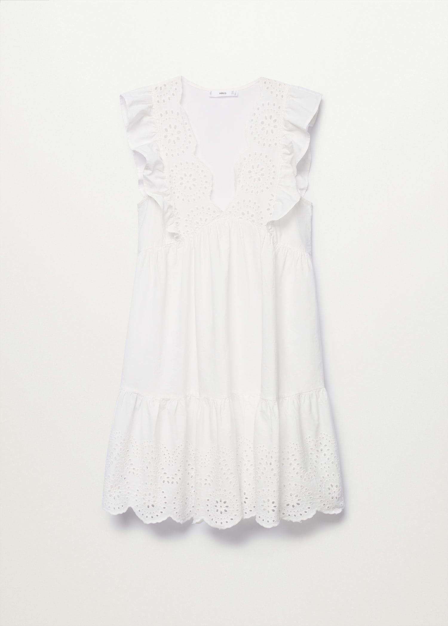 Broderie anglaise cotton dress 6
