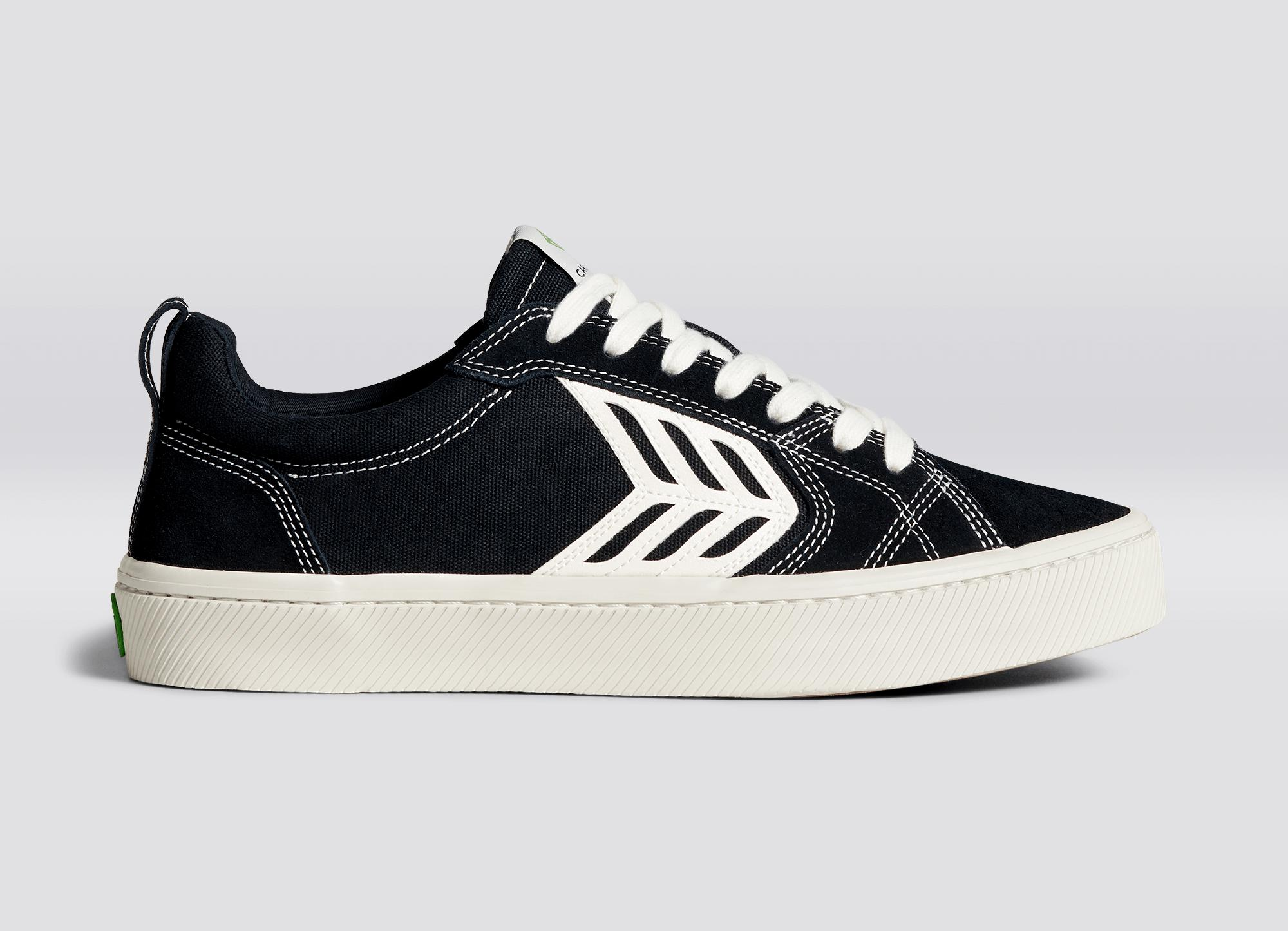 Right foot (Single Shoe) - Black Contrast/Ivory