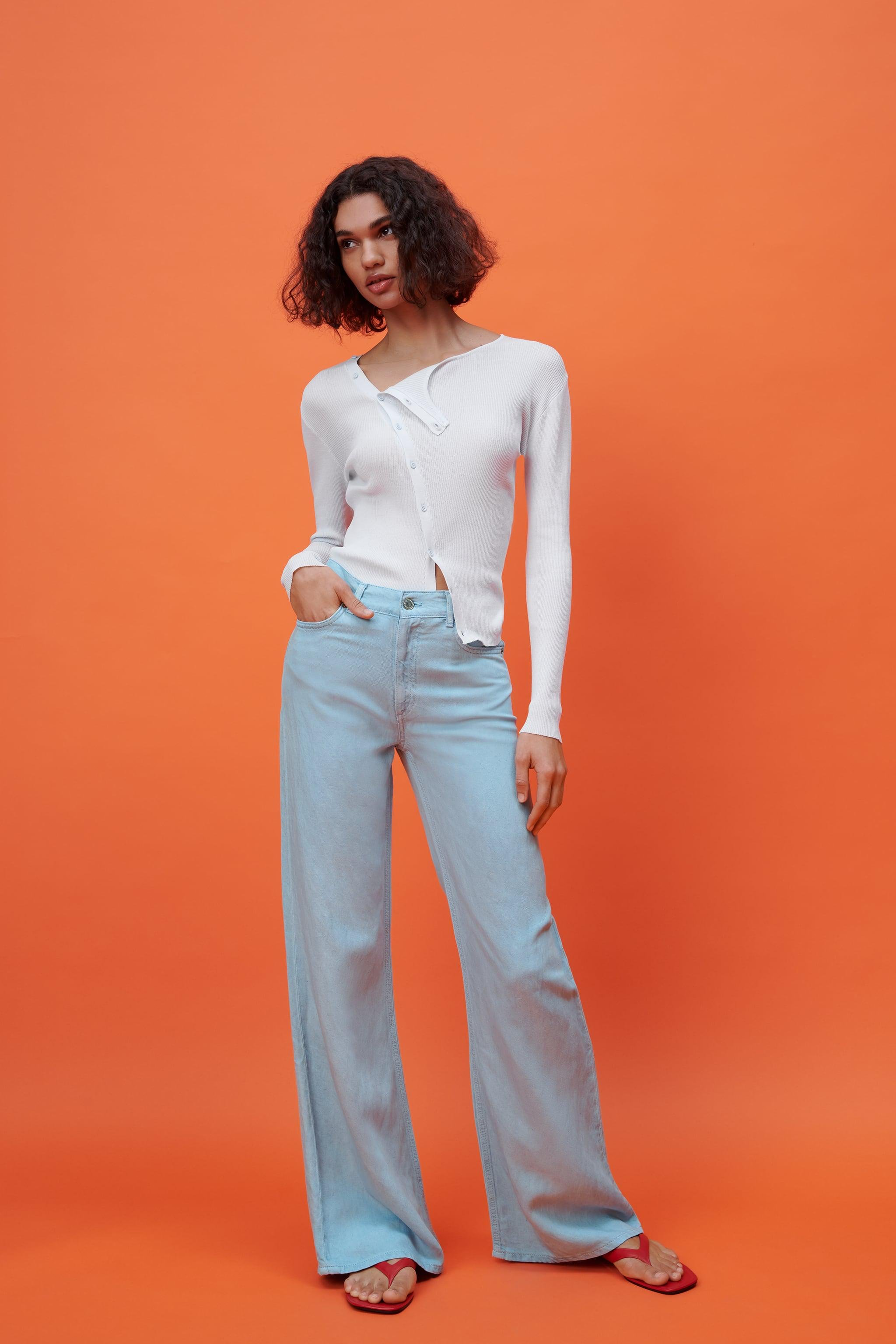 THE DITTA WIDE LEG ZW JEANS