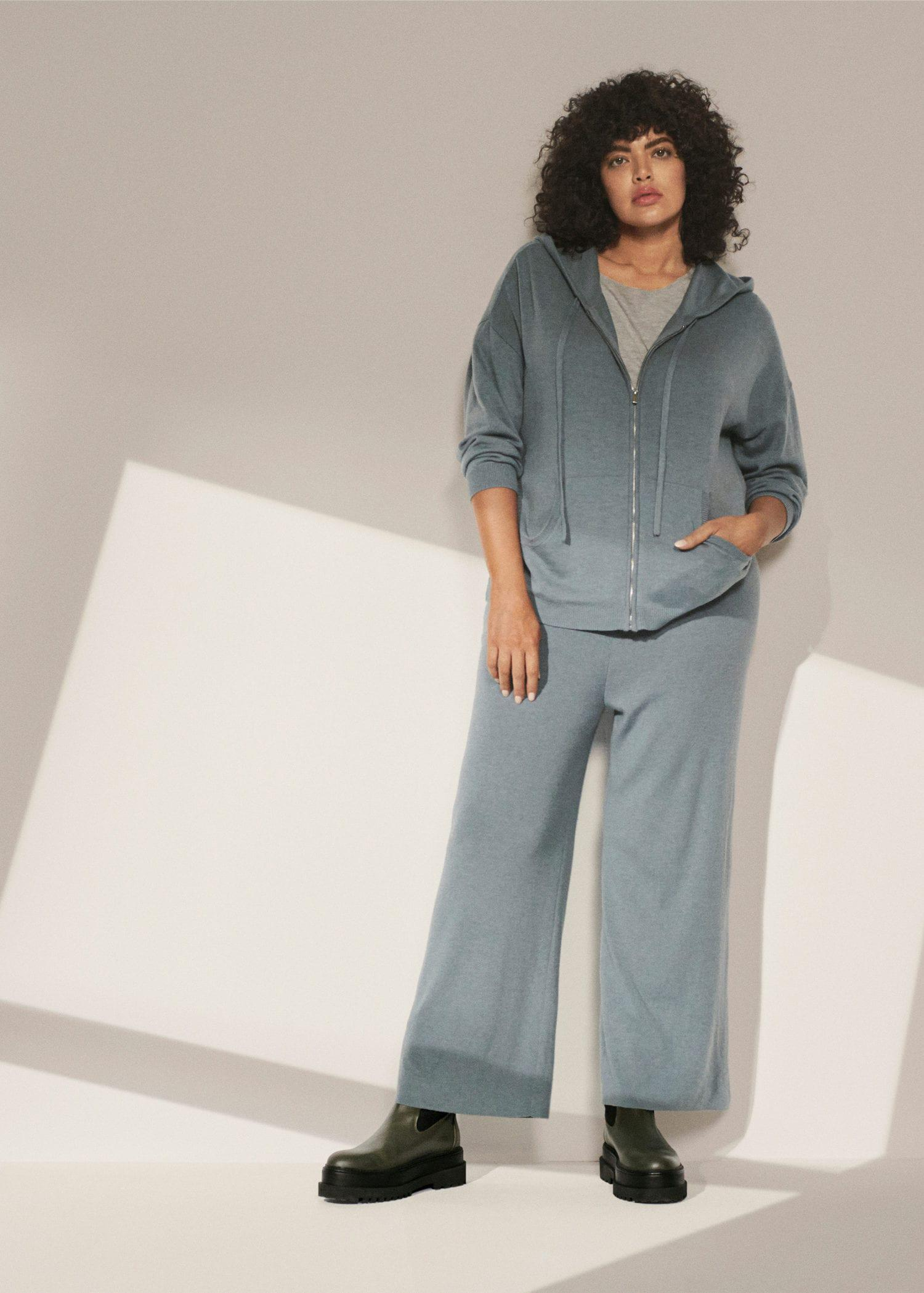Knitted culotte trousers 5