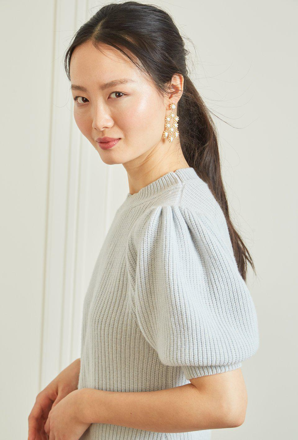 Cleo Pullover - Sky Blue