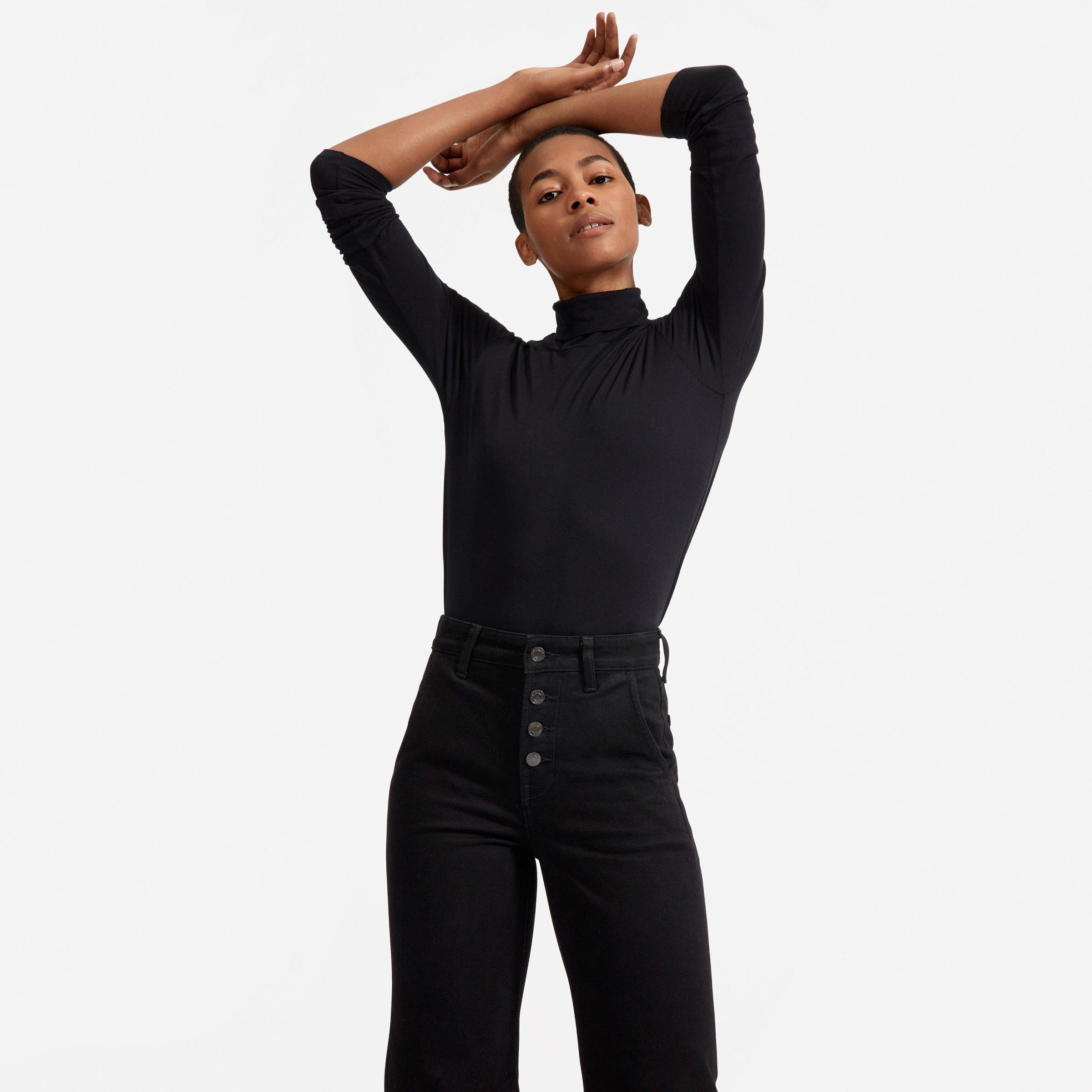 The Button-Fly Wide-Leg Jean 1